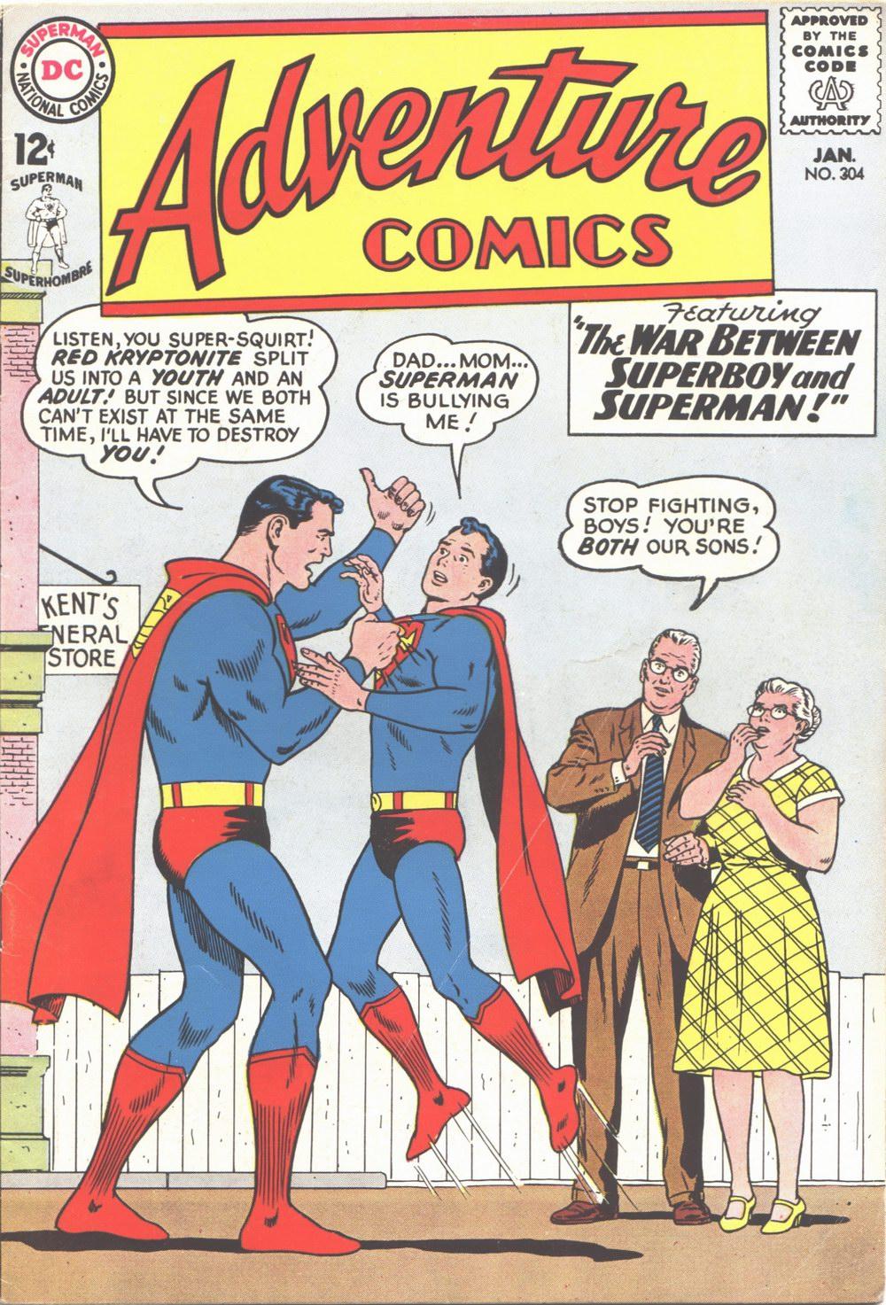Read online Adventure Comics (1938) comic -  Issue #304 - 1