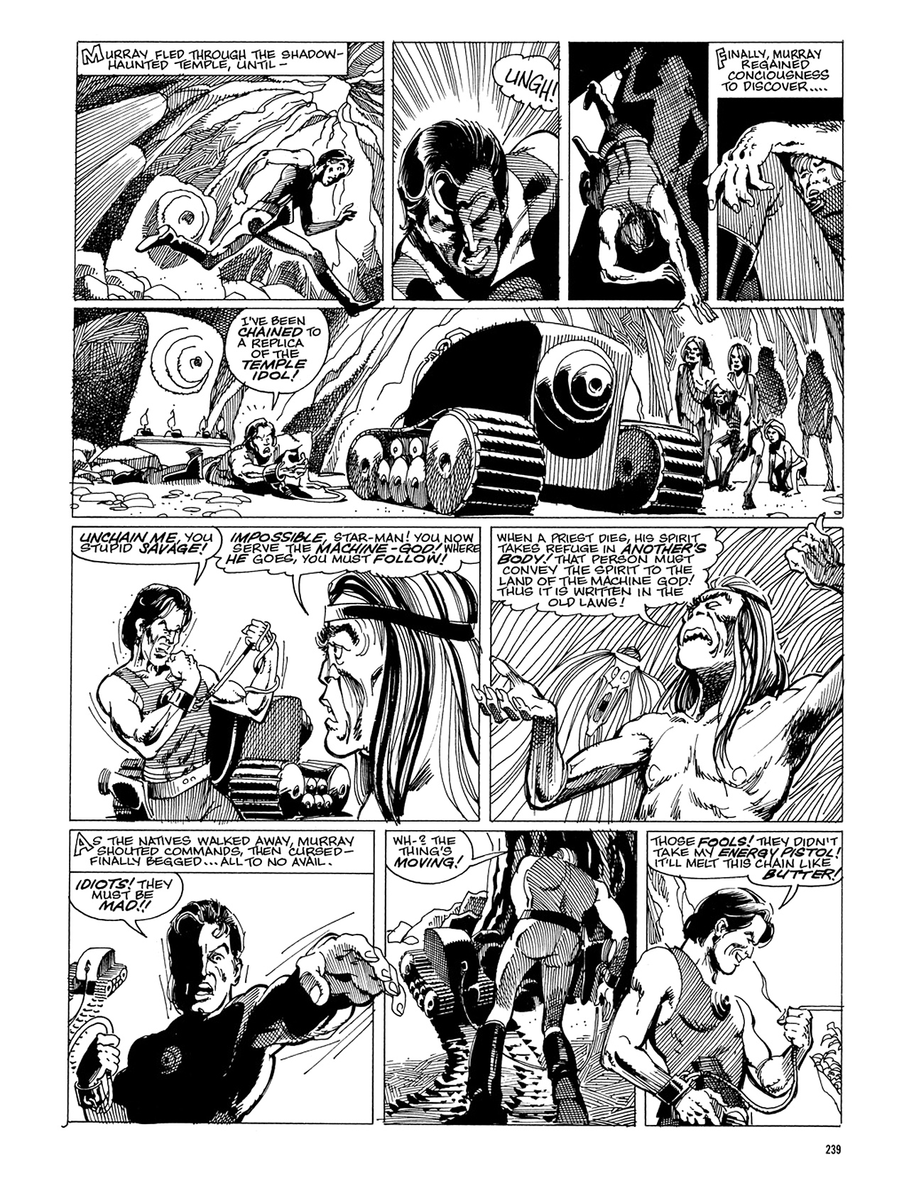 Read online Eerie Archives comic -  Issue # TPB 5 - 240
