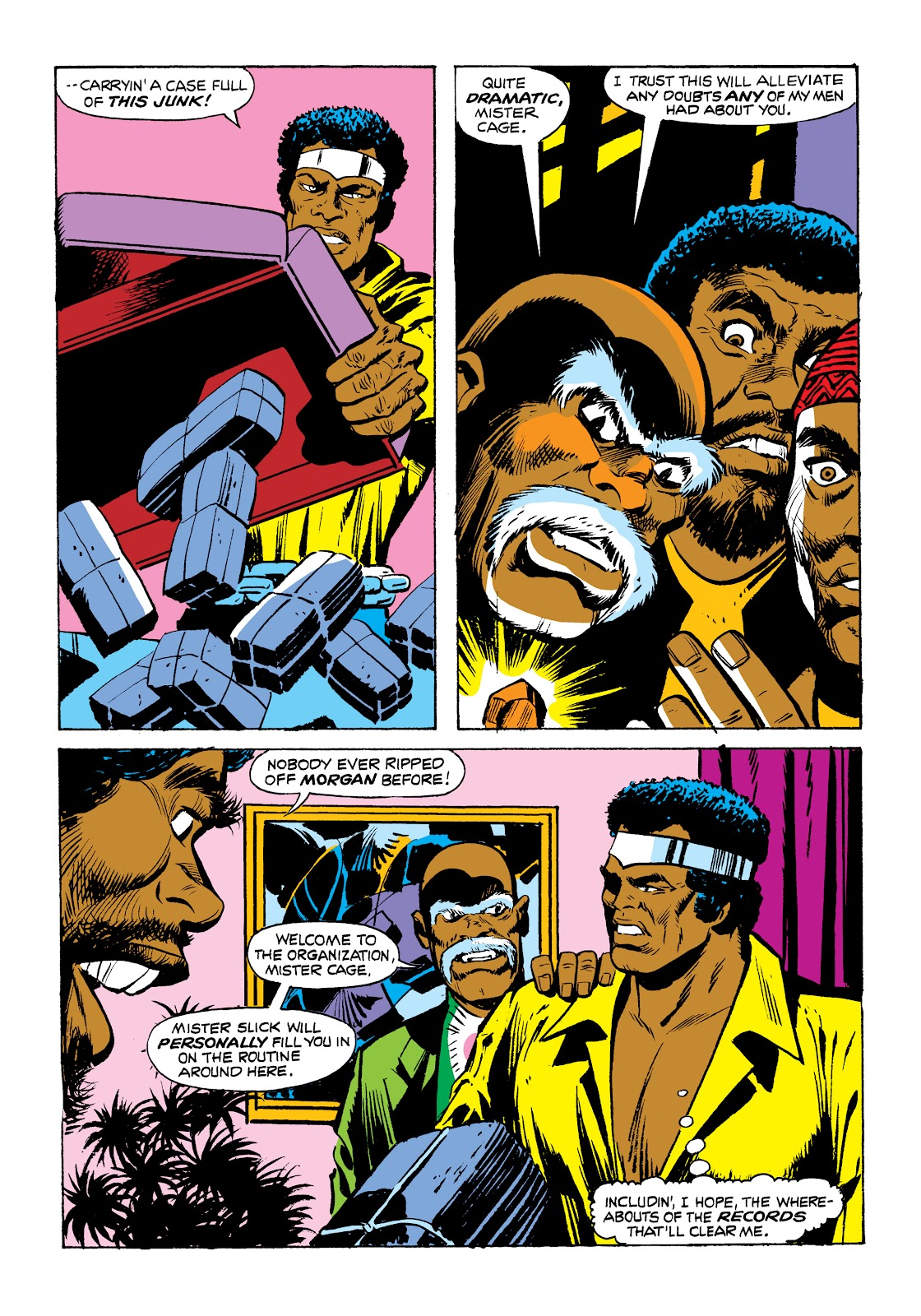 Read online Marvel Masterworks: Luke Cage, Power Man comic -  Issue # TPB 2 (Part 1) - 78