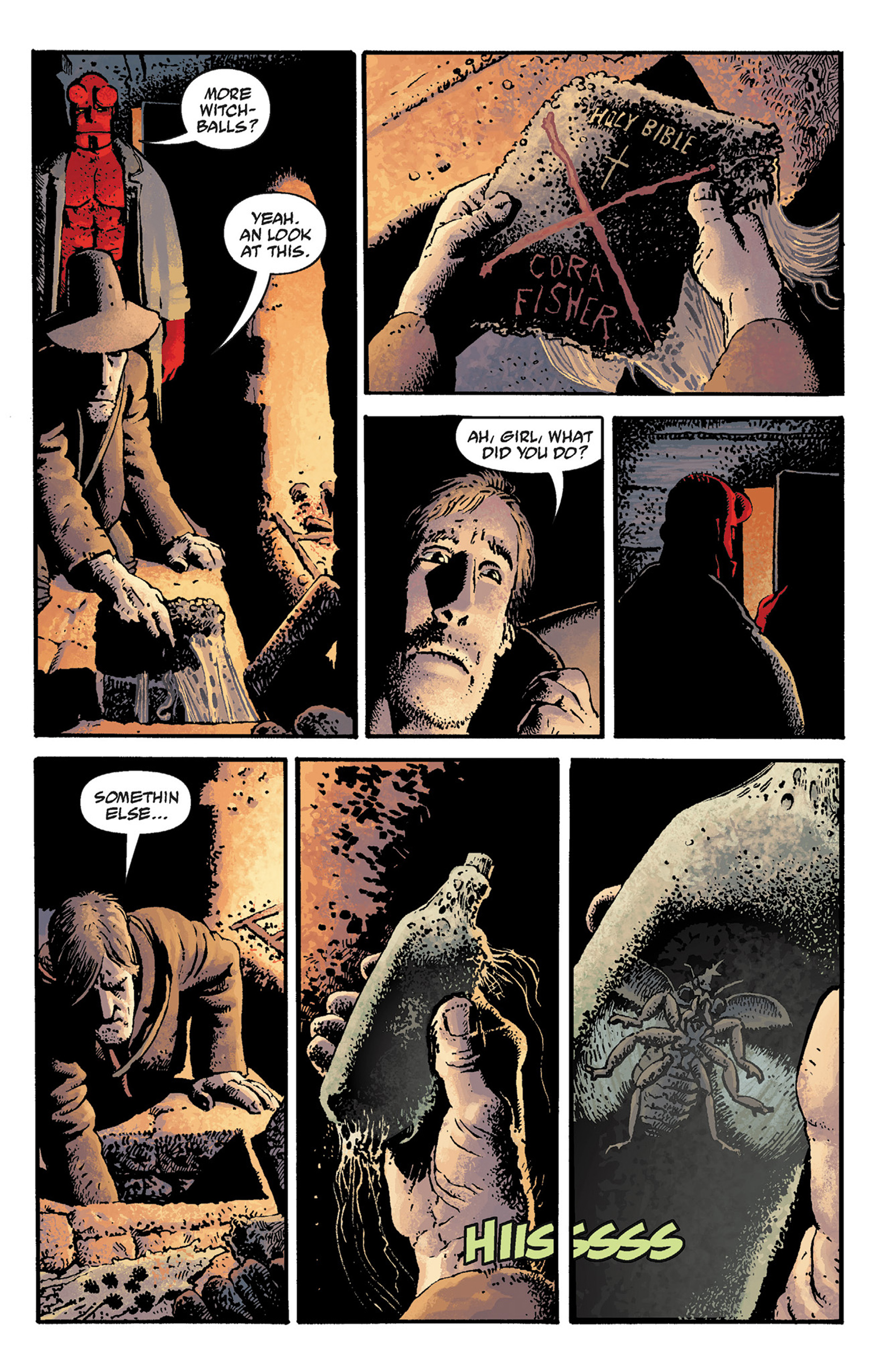 Read online Hellboy: The Crooked Man and Others comic -  Issue # TPB - 17