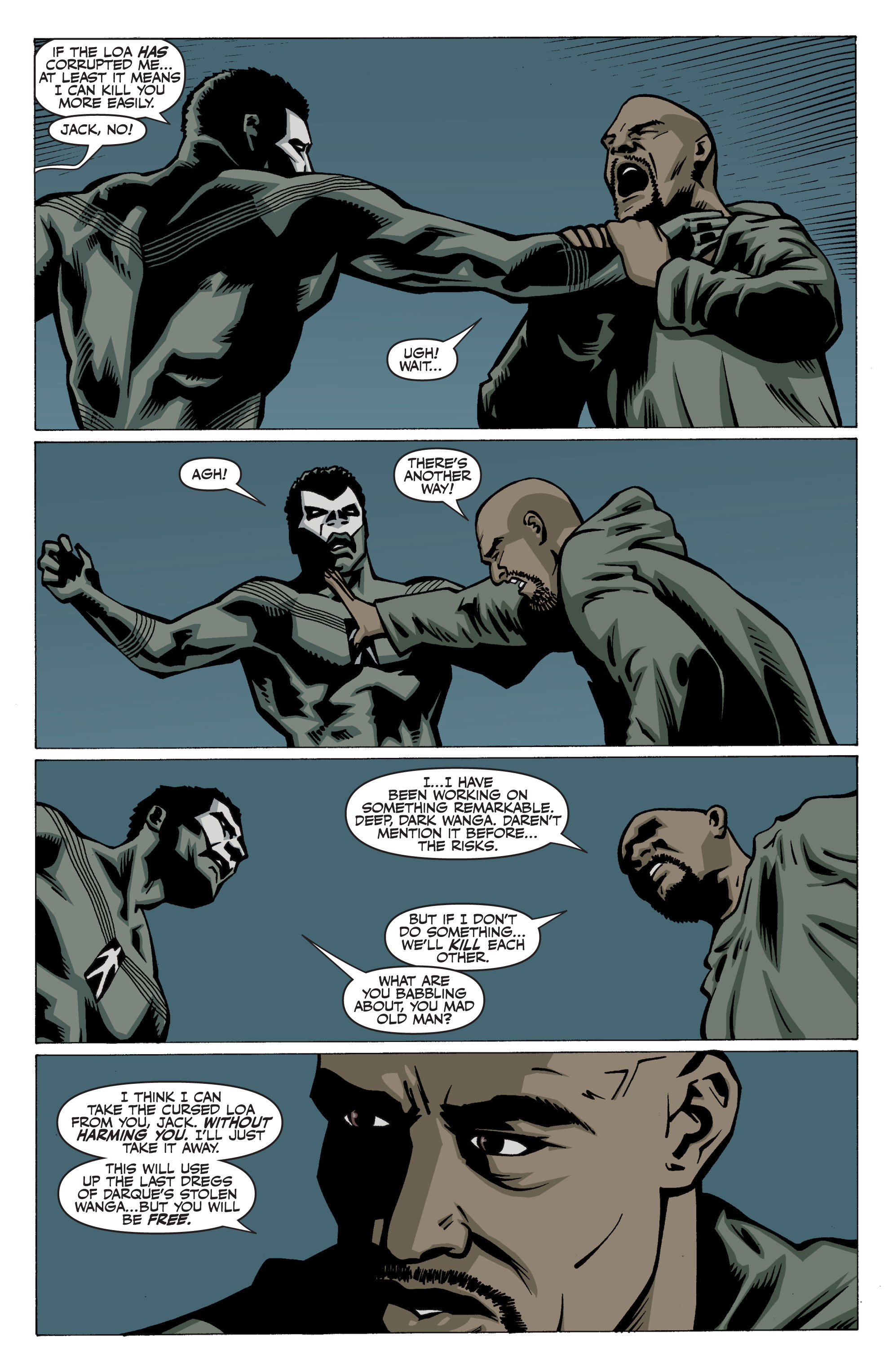 Read online Shadowman: End Times comic -  Issue #3 - 21