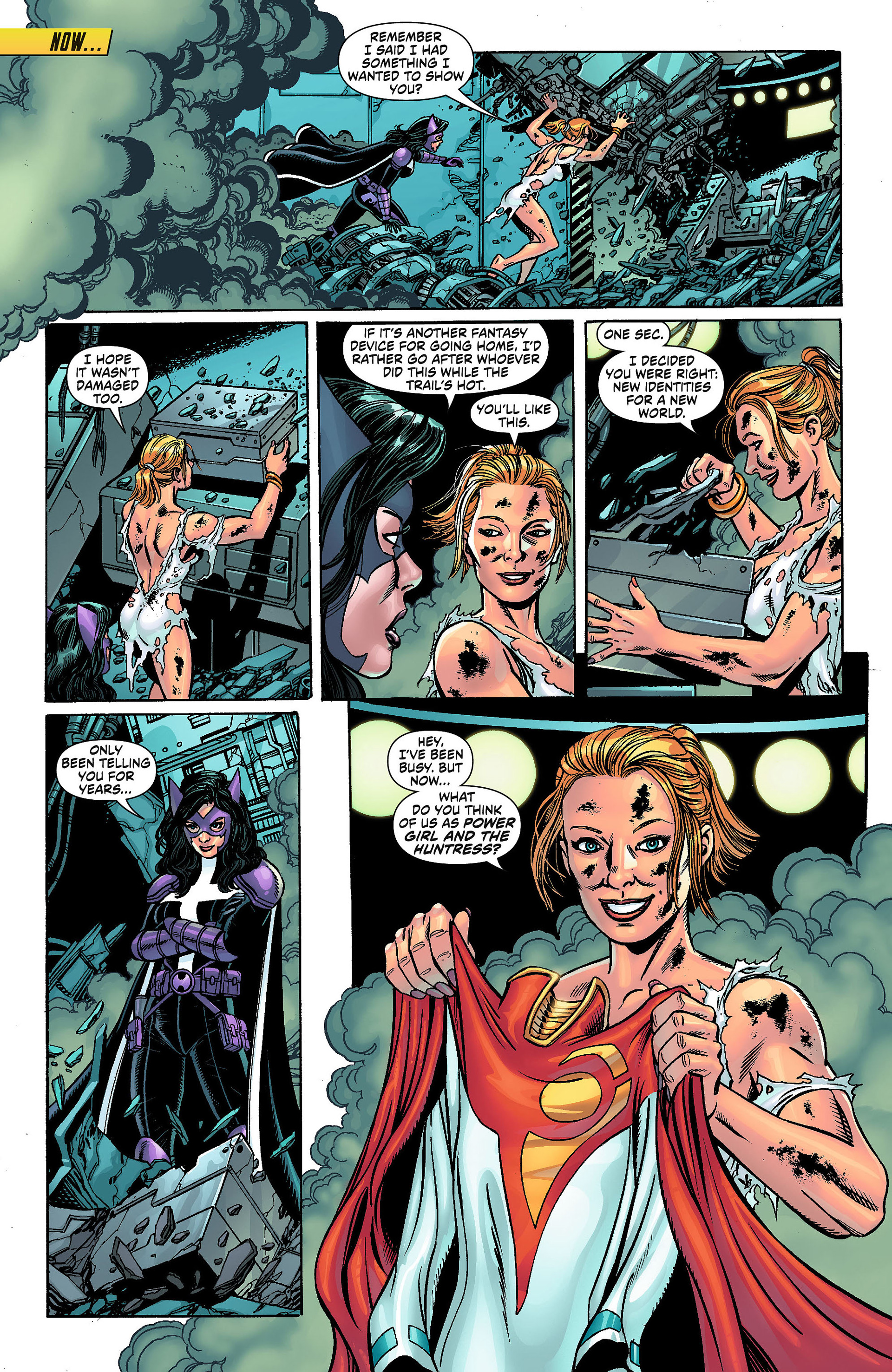 Read online Worlds' Finest comic -  Issue #1 - 17