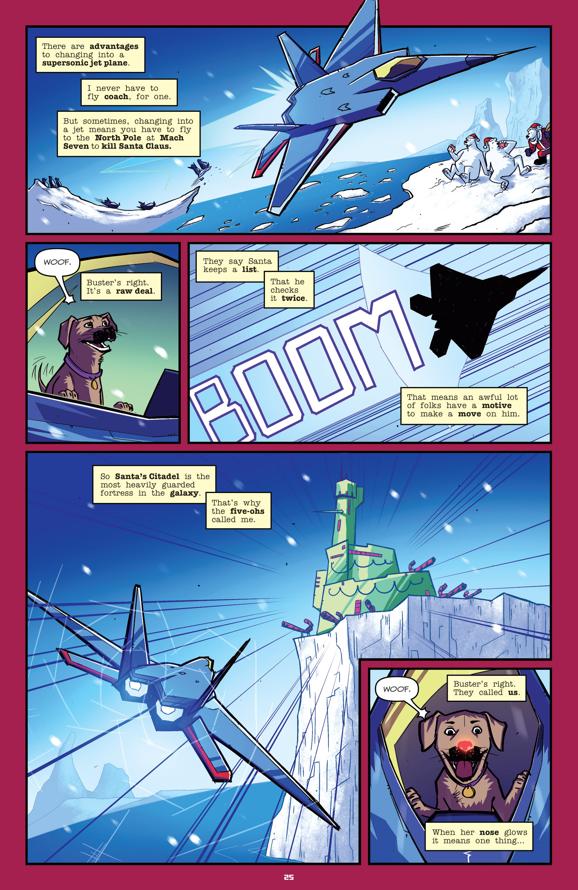 Read online Transformers: Holiday Special comic -  Issue # Full - 27