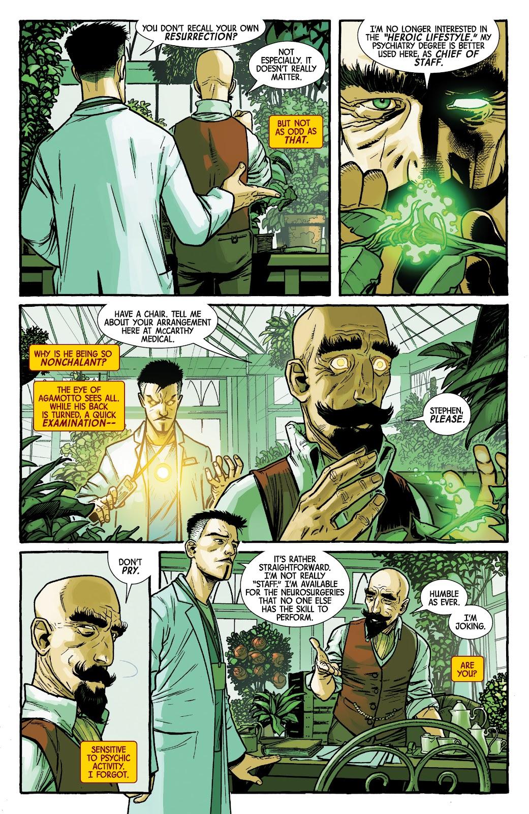 Read online Dr. Strange comic -  Issue #2 - 10