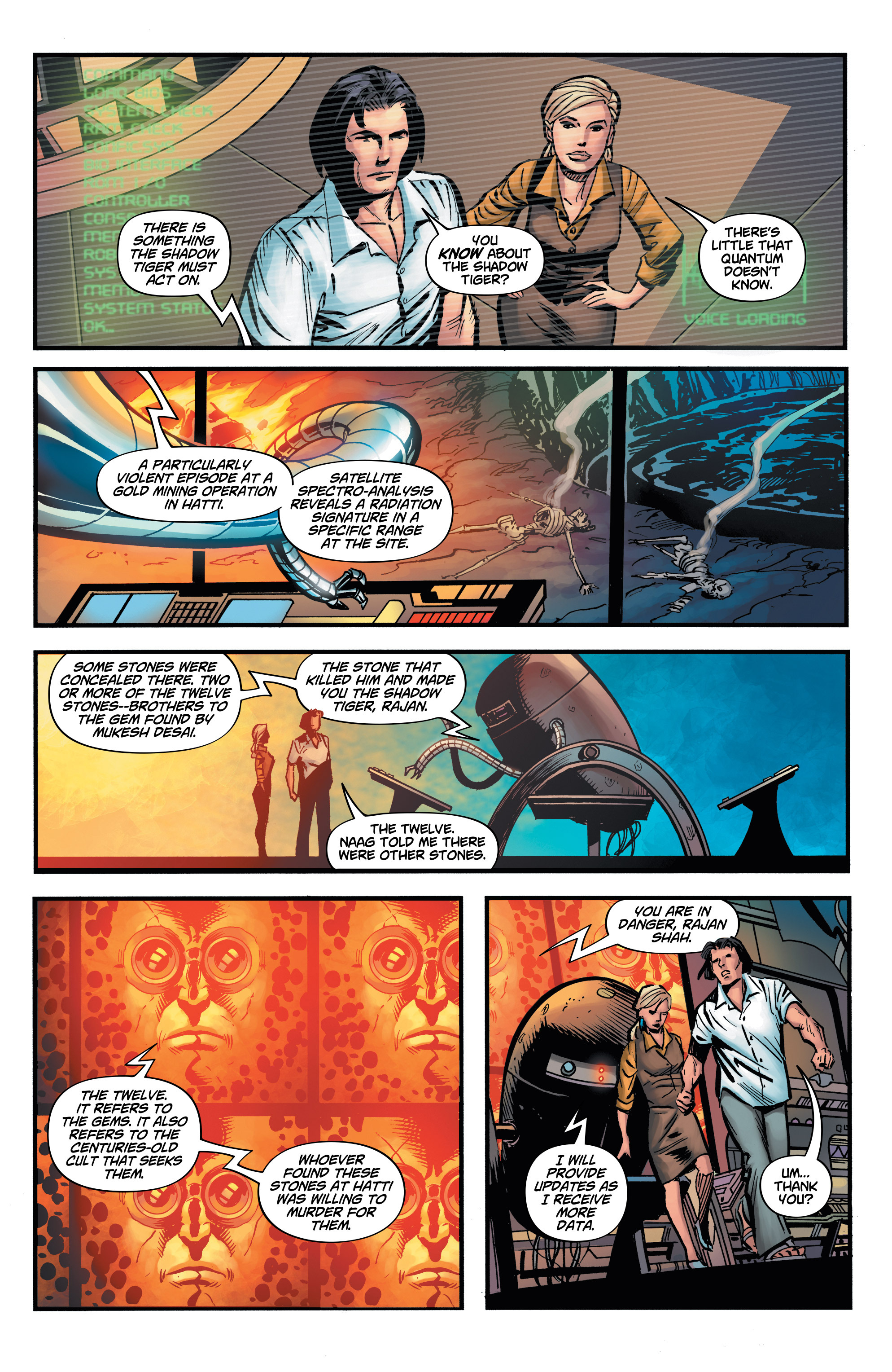 Read online Shadow Tiger comic -  Issue #2 - 15