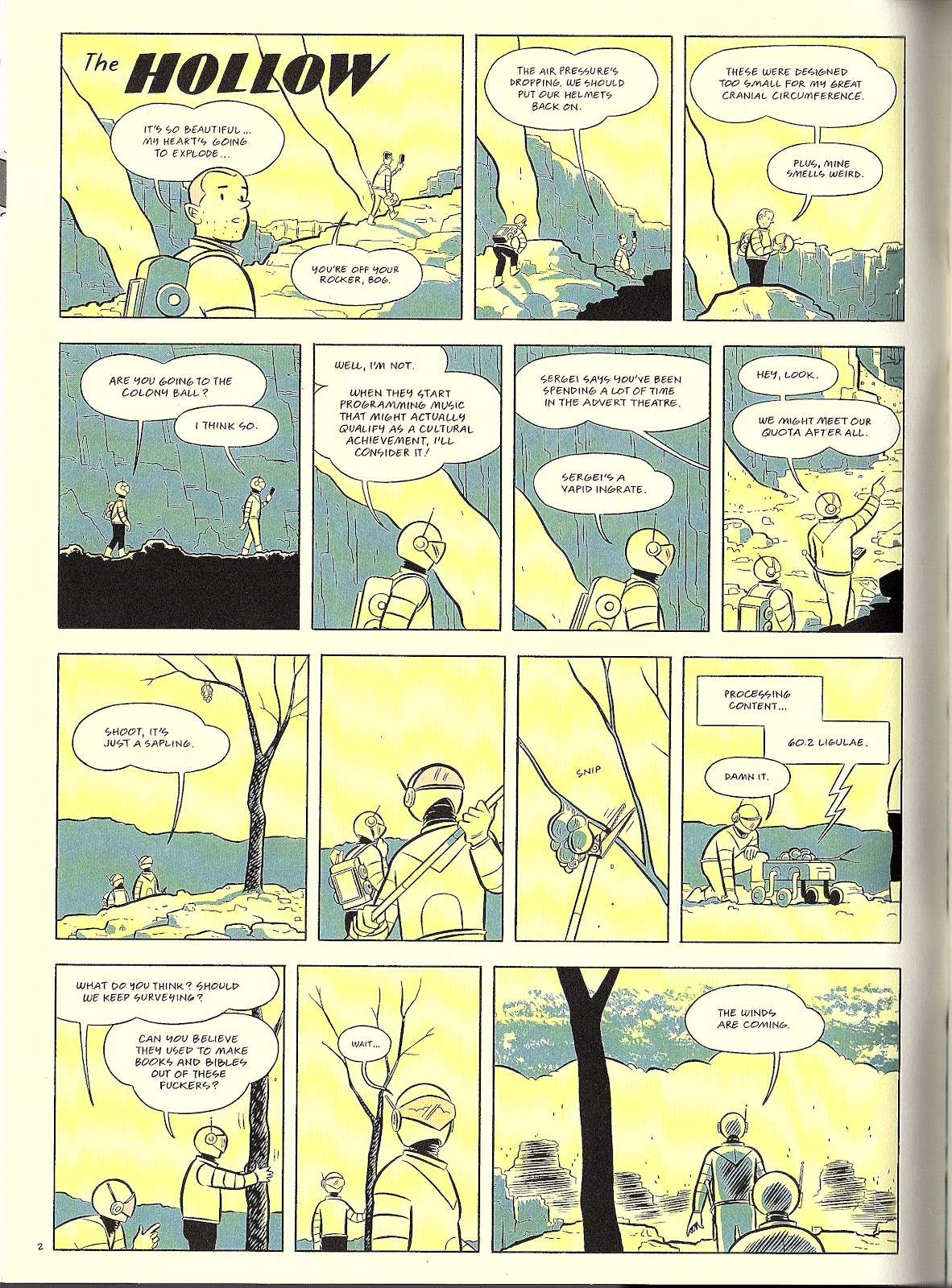 Read online Pope Hats comic -  Issue #4 - 4