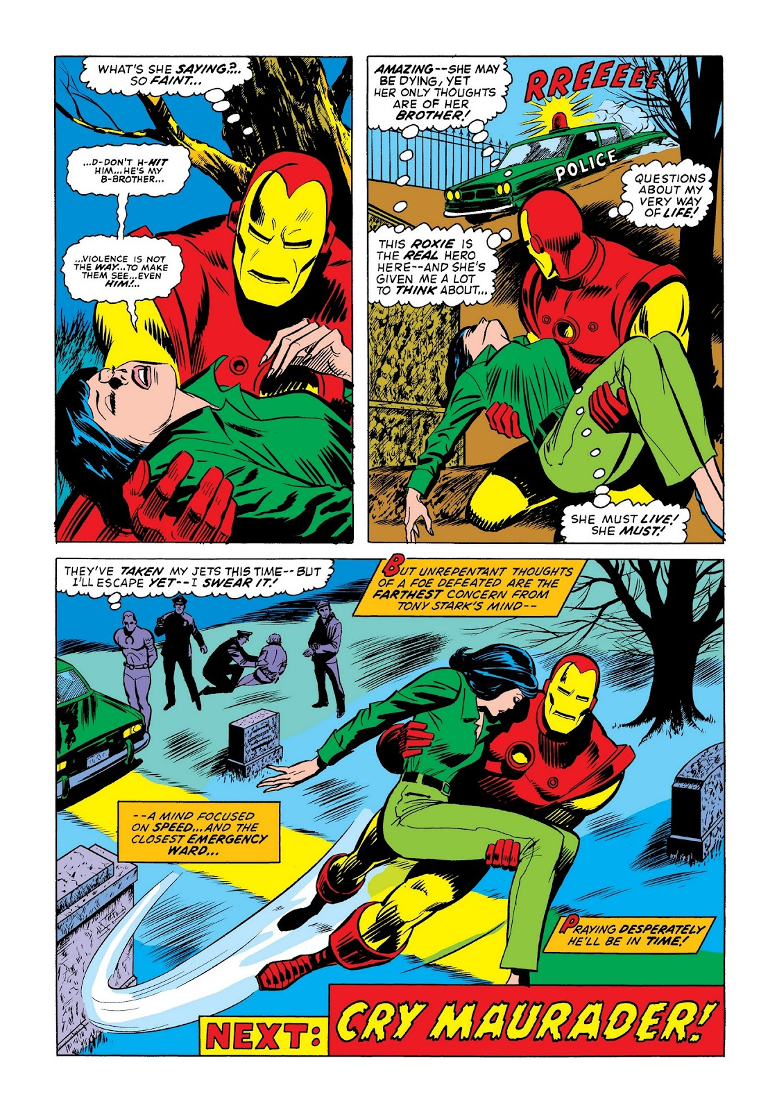 Read online Marvel Masterworks: The Invincible Iron Man comic -  Issue # TPB 9 (Part 2) - 32