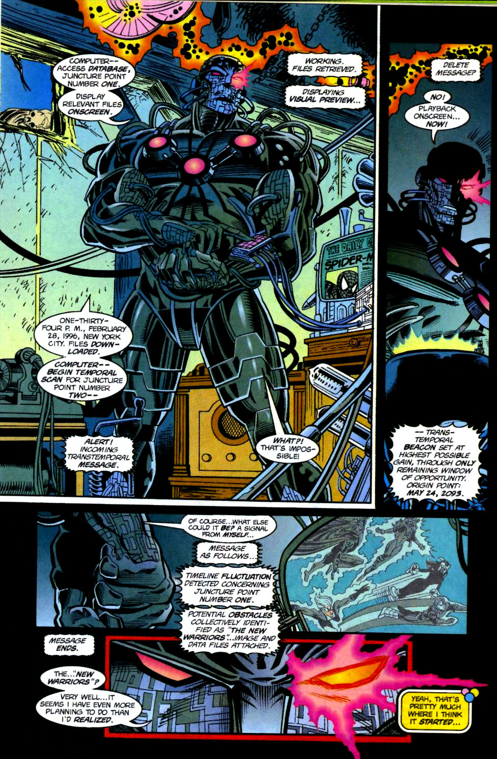 The New Warriors Issue #69 #73 - English 4