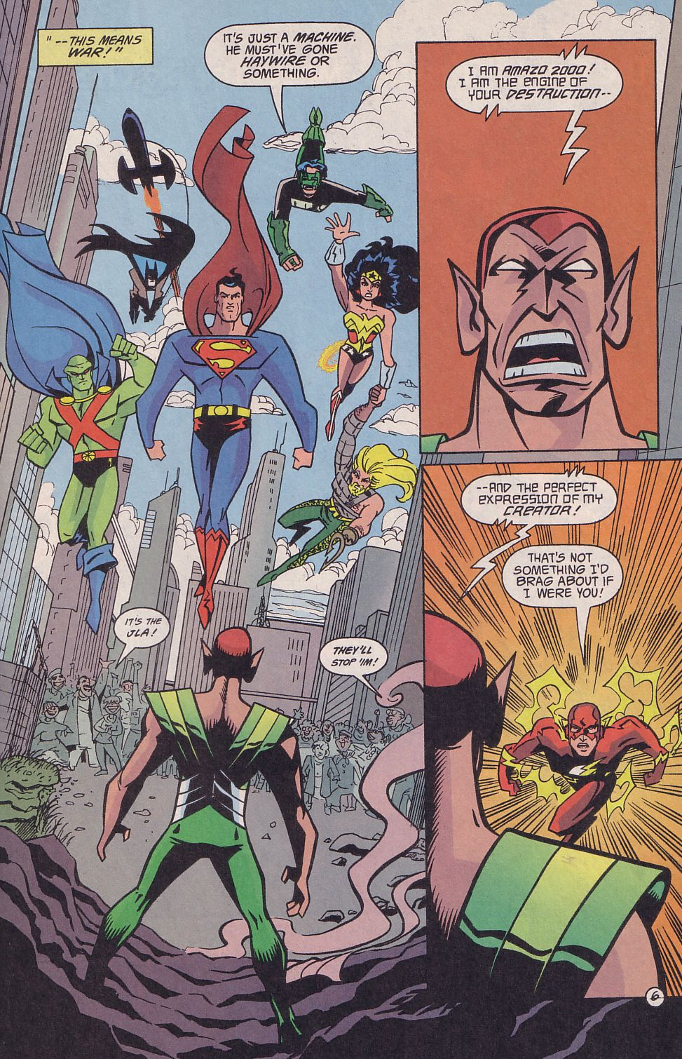 Read online Adventures in the DC Universe comic -  Issue #18 - 7