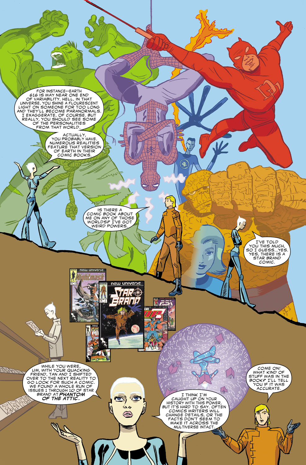 Read online Untold Tales Of The New Universe: Star Brand comic -  Issue # Full - 17