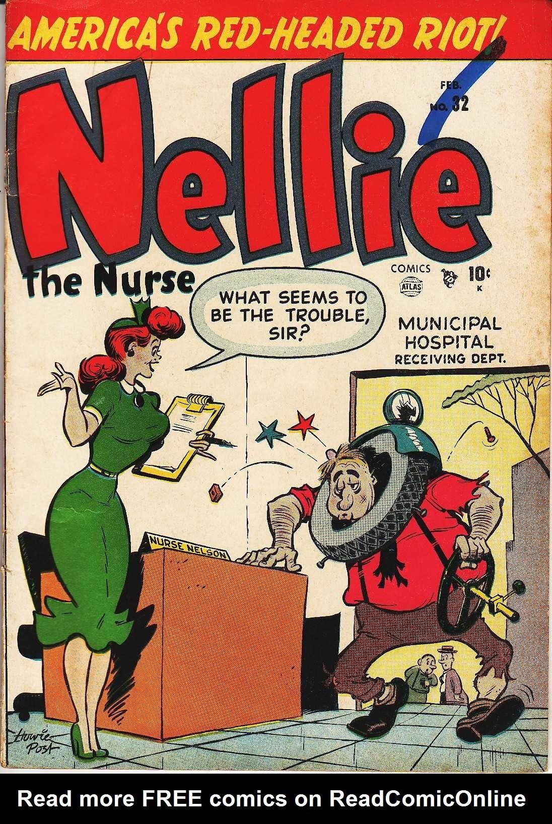 Nellie The Nurse (1945) 32 Page 1