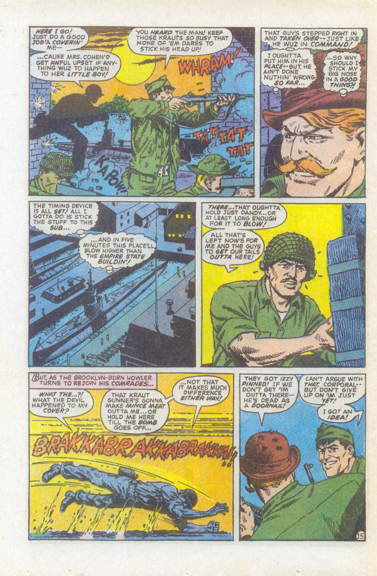 Read online Sgt. Fury comic -  Issue #159 - 22