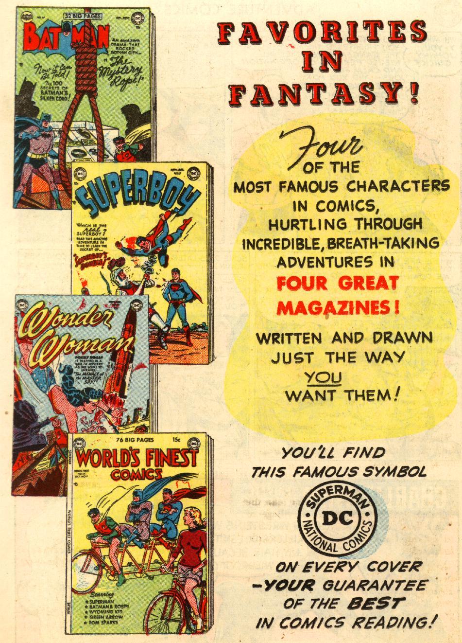Read online Adventure Comics (1938) comic -  Issue #170 - 32