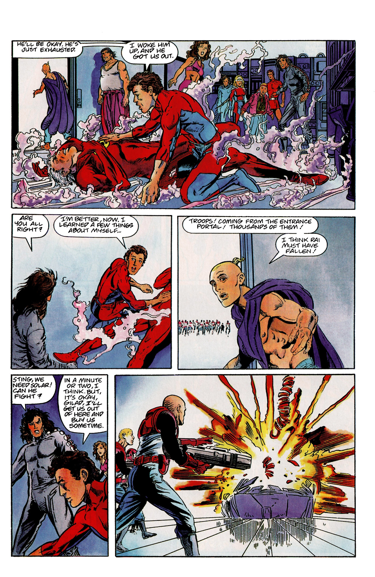 Read online Harbinger (1992) comic -  Issue #9 - 16