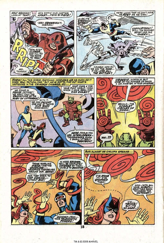 Read online Uncanny X-Men (1963) comic -  Issue #81 - 20