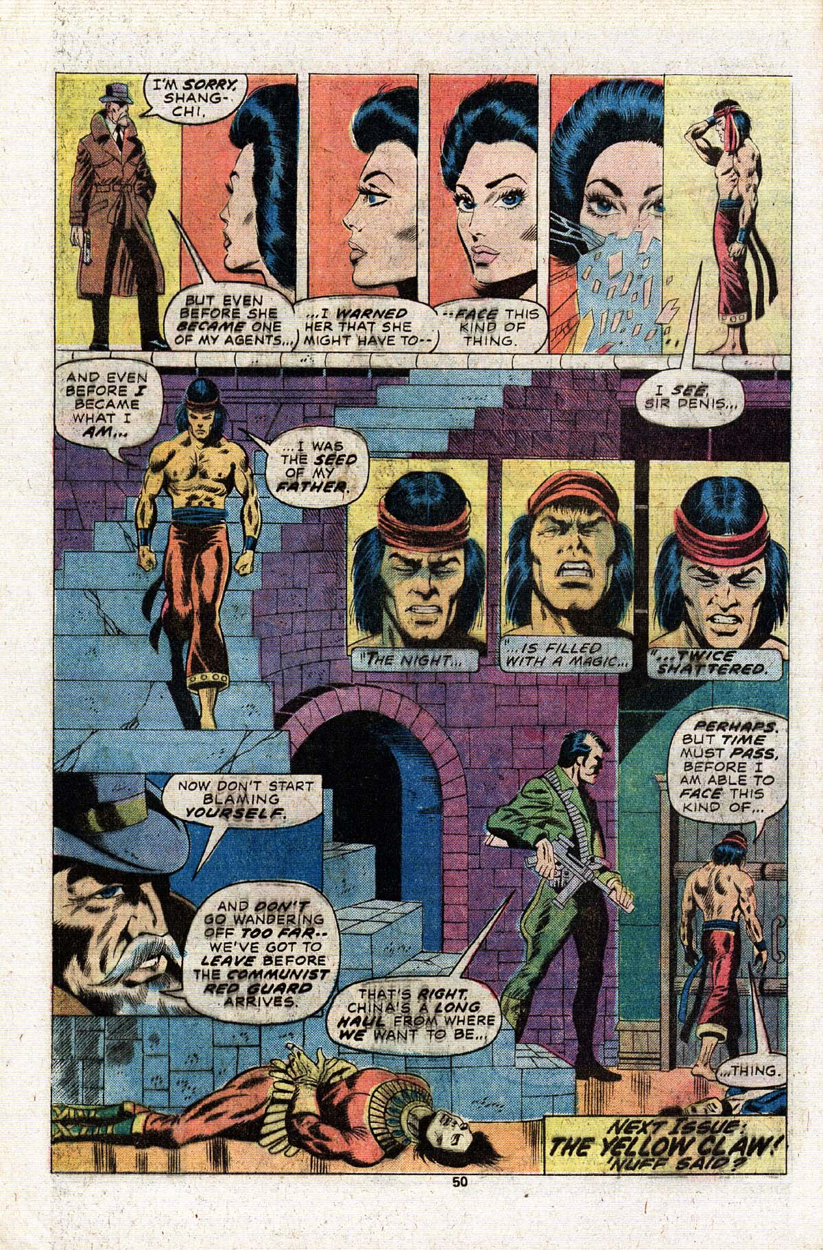 Read online Giant-Size Master of Kung Fu comic -  Issue #2 - 43