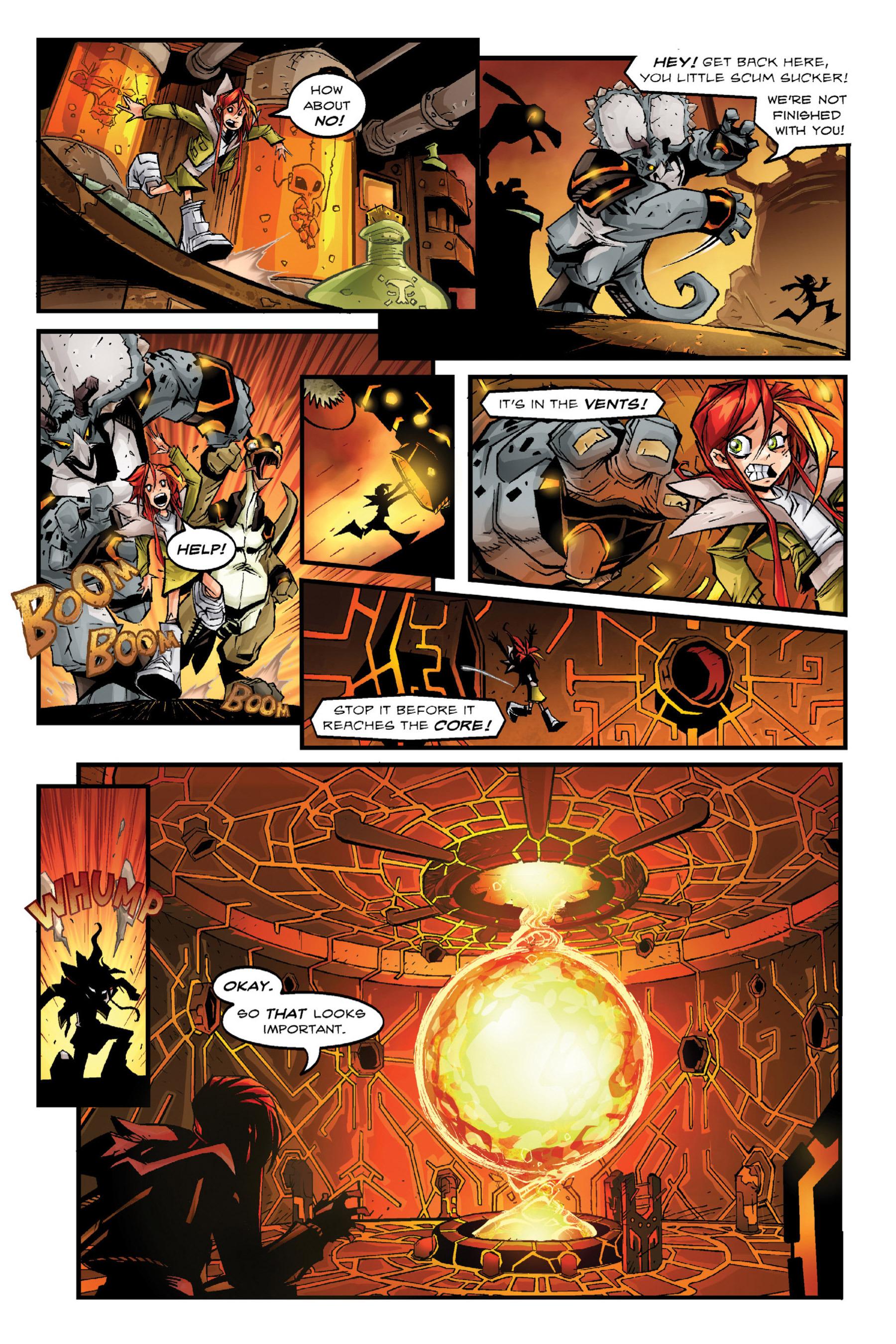 Read online Rexodus comic -  Issue # Full - 40