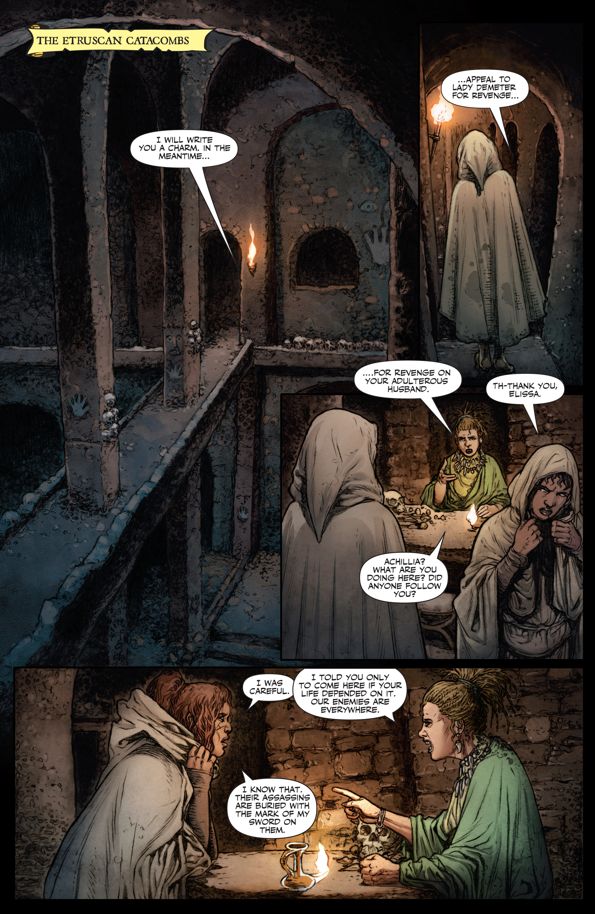 Read online Britannia: We Who Are About To Die comic -  Issue #2 - 12