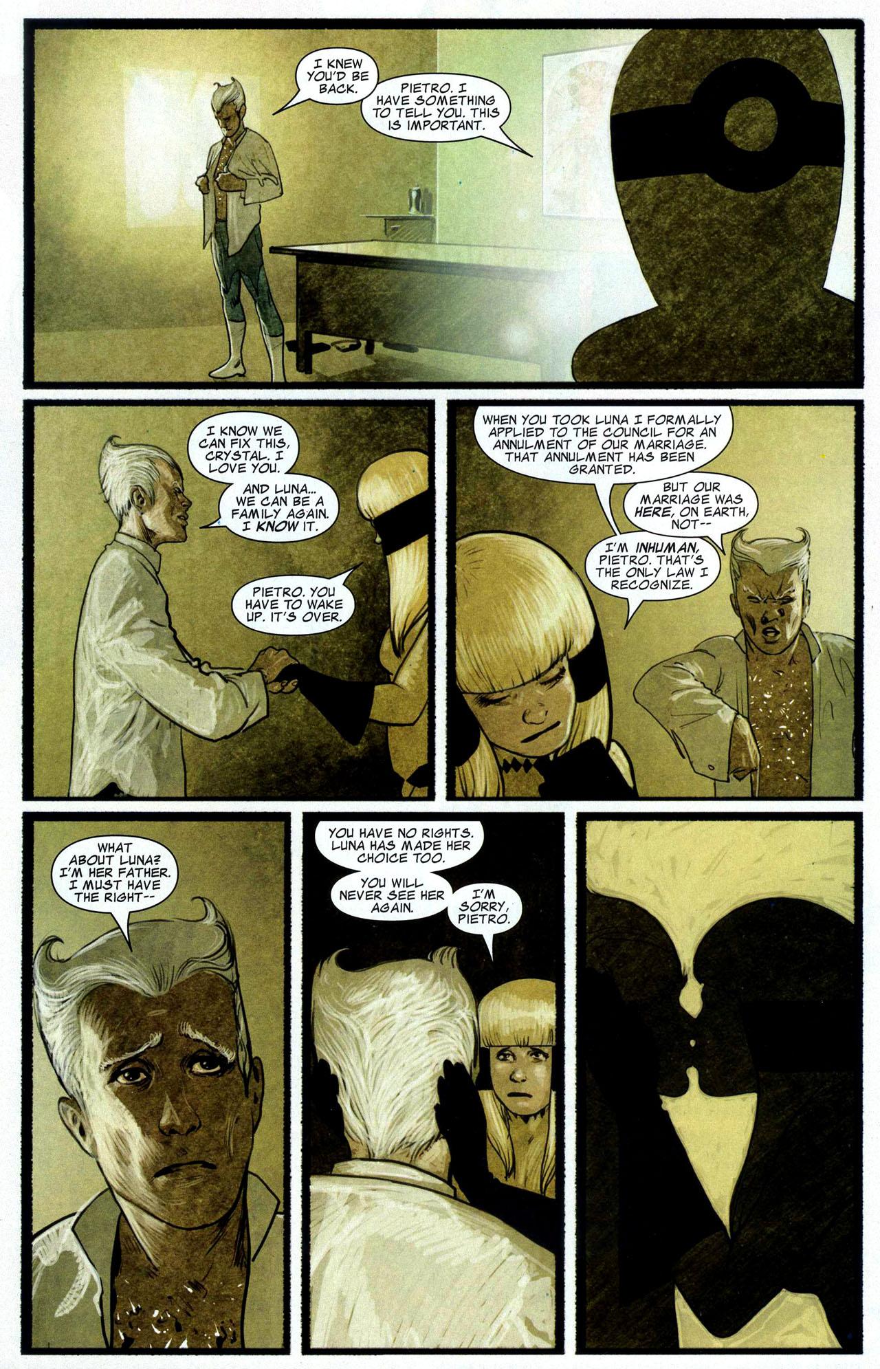 Read online Silent War comic -  Issue #3 - 19