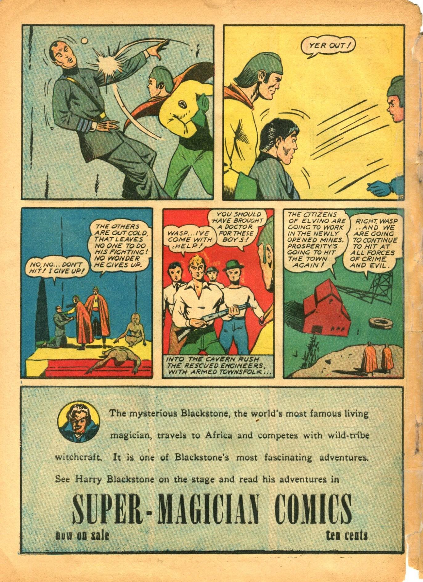 Read online Shadow Comics comic -  Issue #12 - 60