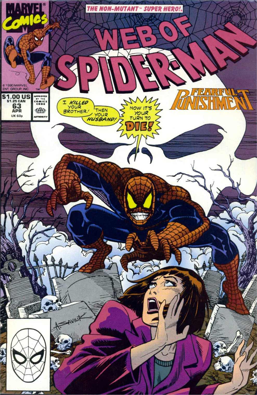 Web of Spider-Man (1985) 63 Page 1
