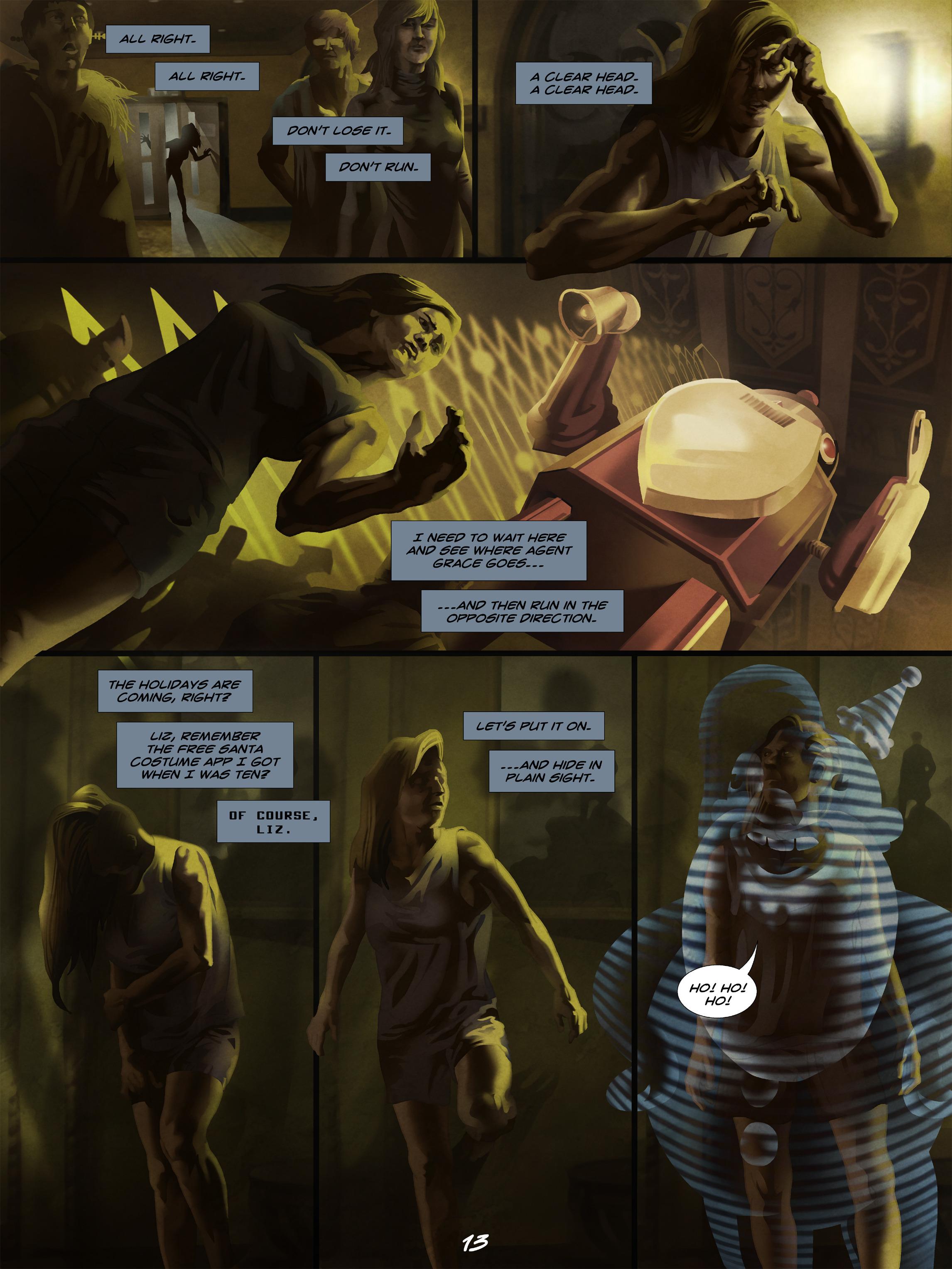 Read online Wynter comic -  Issue #5 - 14