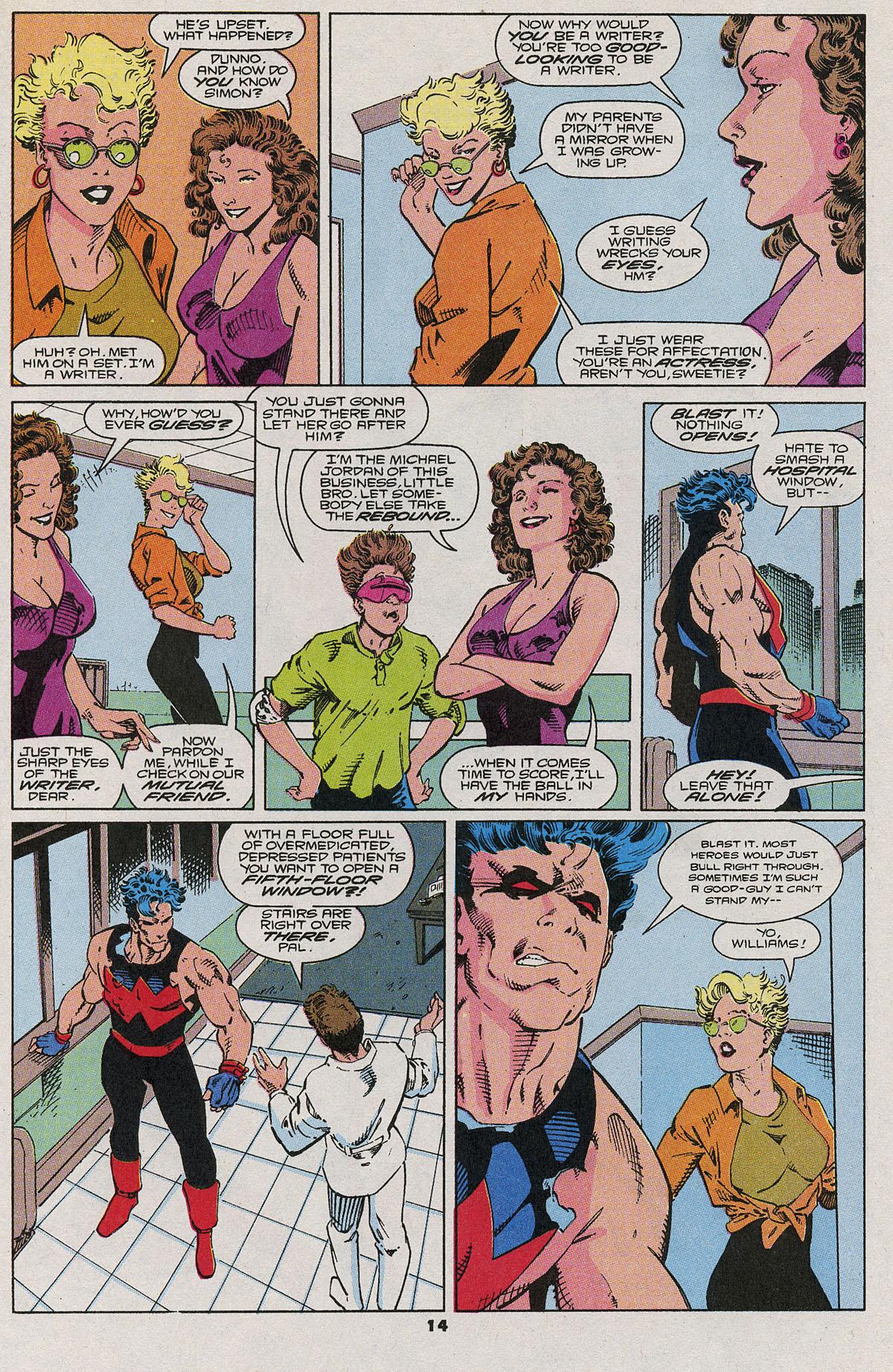 Read online Wonder Man (1991) comic -  Issue #6 - 11