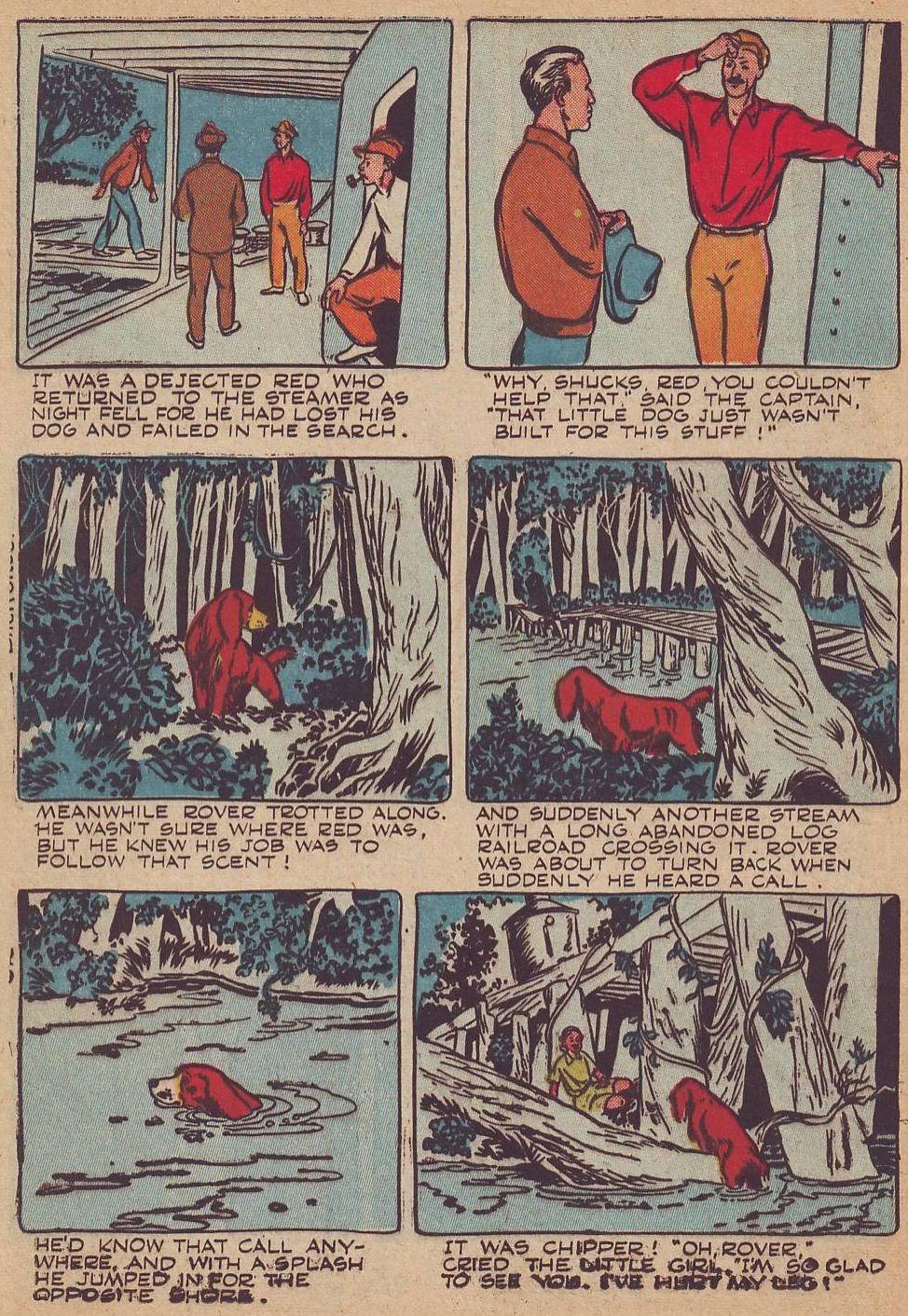 Read online Animal Comics comic -  Issue #23 - 34