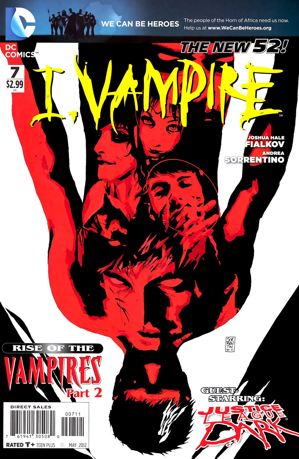 I, Vampire (2011) issue 07 - Page 1