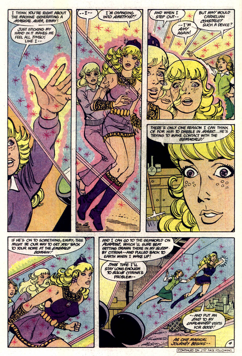 Read online Amethyst (1985) comic -  Issue #5 - 5