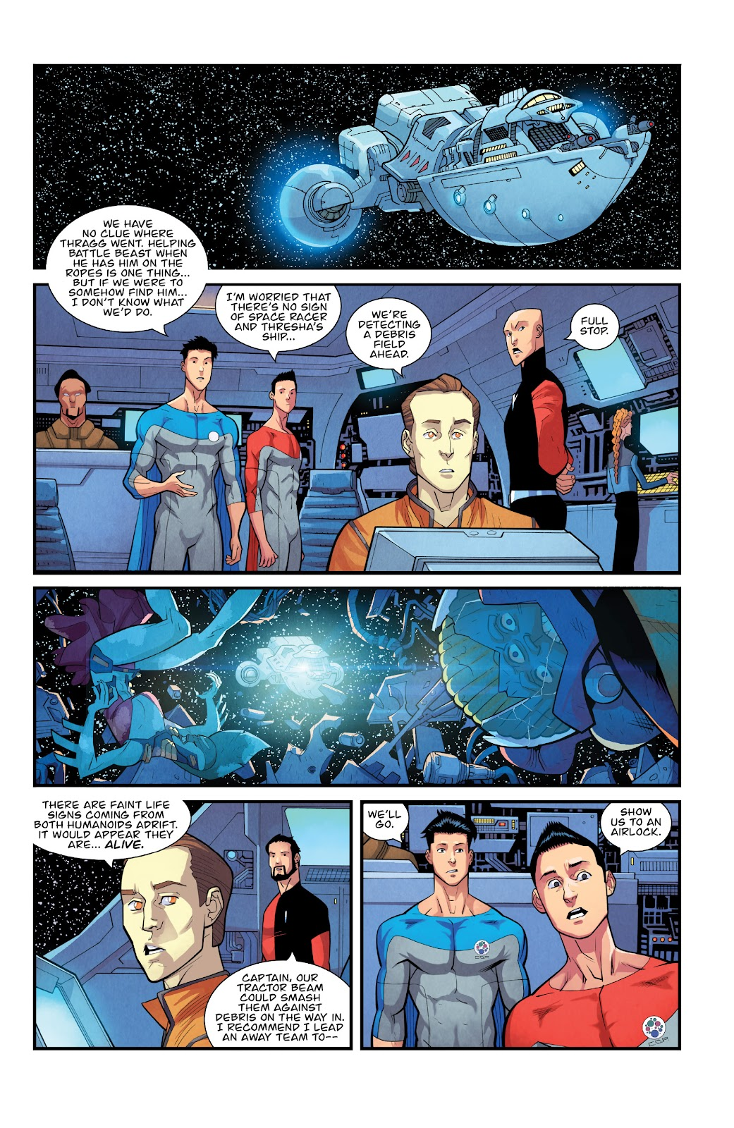 Invincible (2003) issue TPB 21 - Modern Family - Page 116