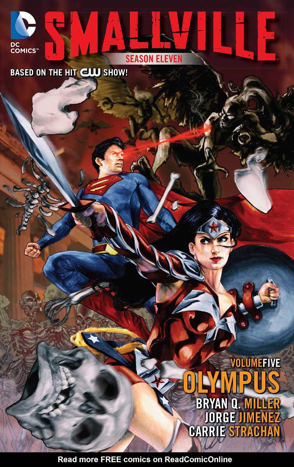 Read online Smallville Season 11 [II] comic -  Issue # TPB 5 - 1