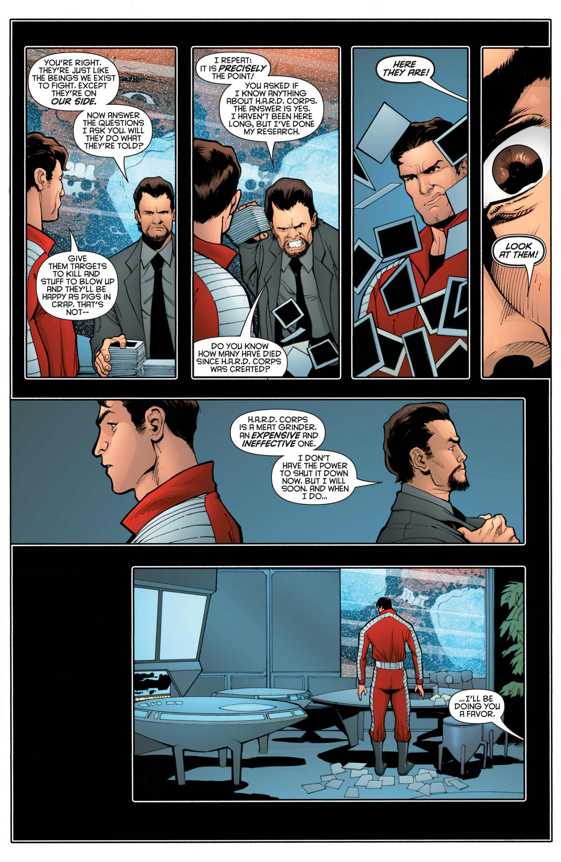 Read online Bloodshot and H.A.R.D.Corps comic -  Issue #18 - 22