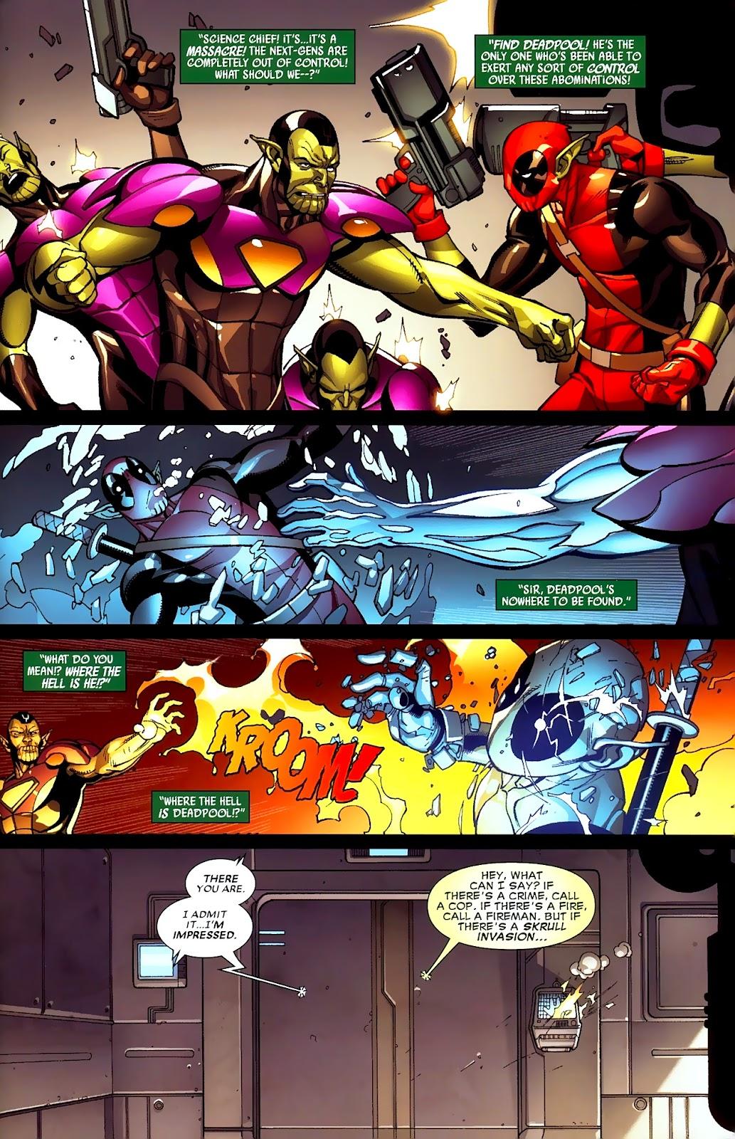 Read online Deadpool (2008) comic -  Issue #2 - 22