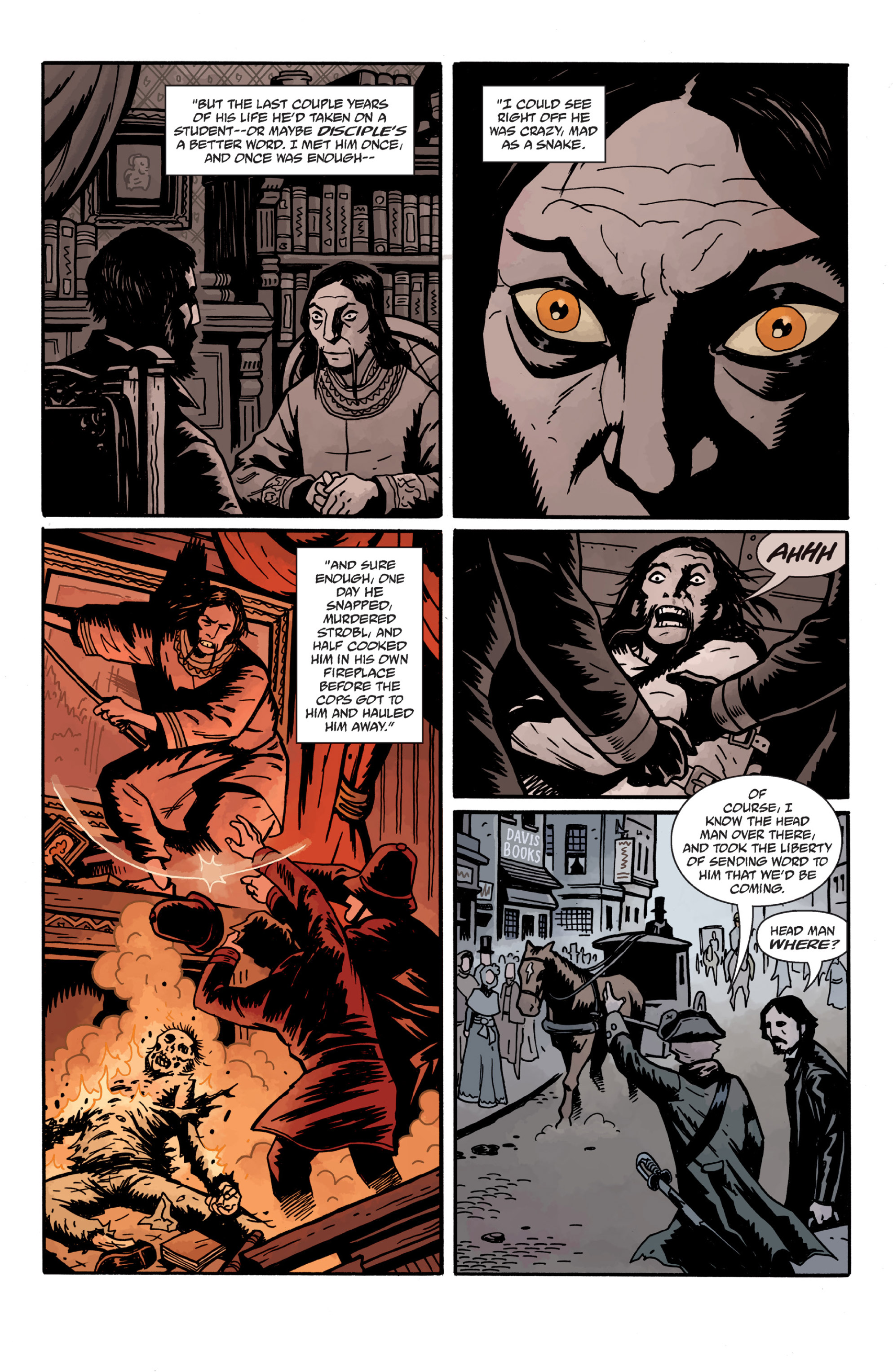 Read online Sir Edward Grey, Witchfinder: In the Service of Angels comic -  Issue # TPB - 99