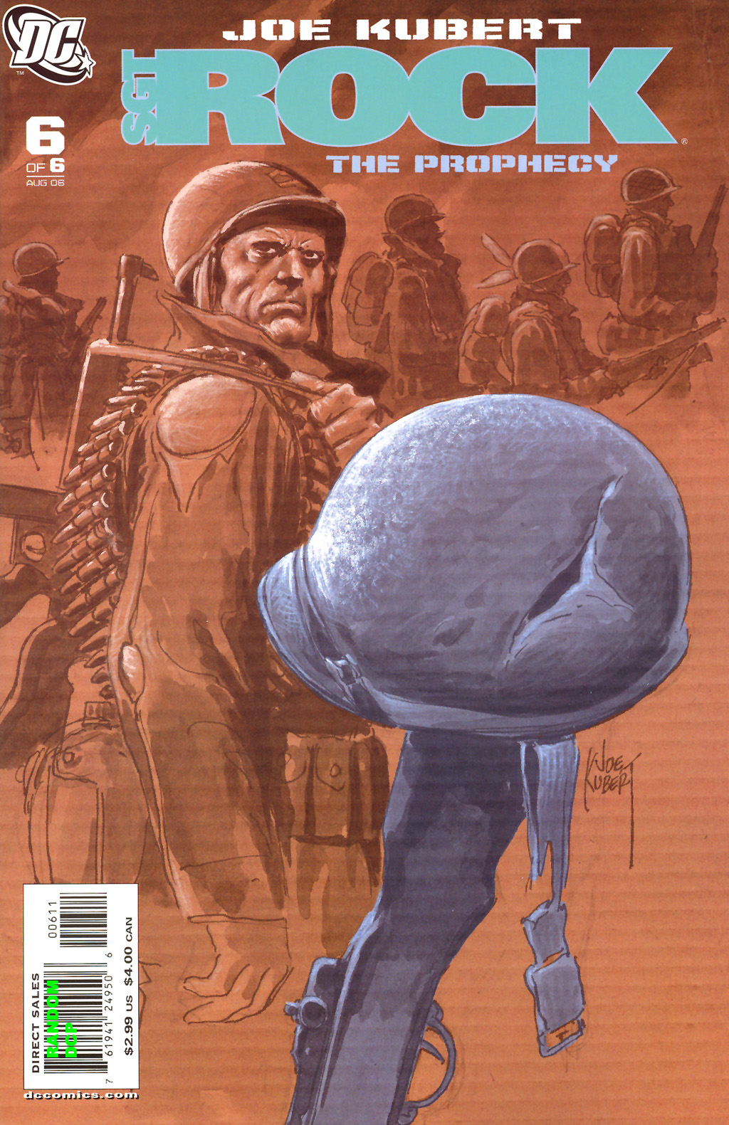 Read online Sgt. Rock: The Prophecy comic -  Issue #6 - 1