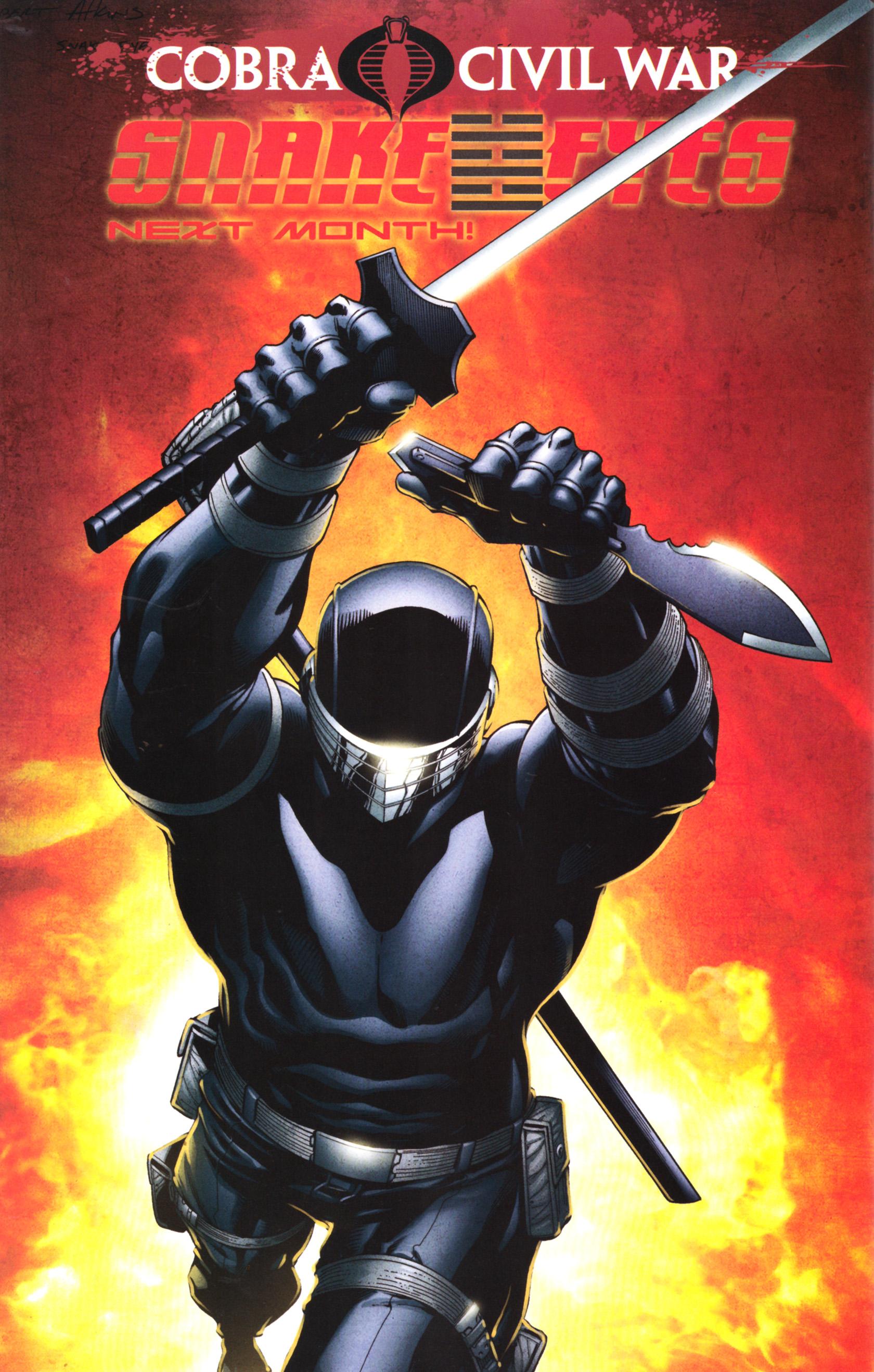 Read online G.I. Joe: Snake Eyes comic -  Issue #5 - 27