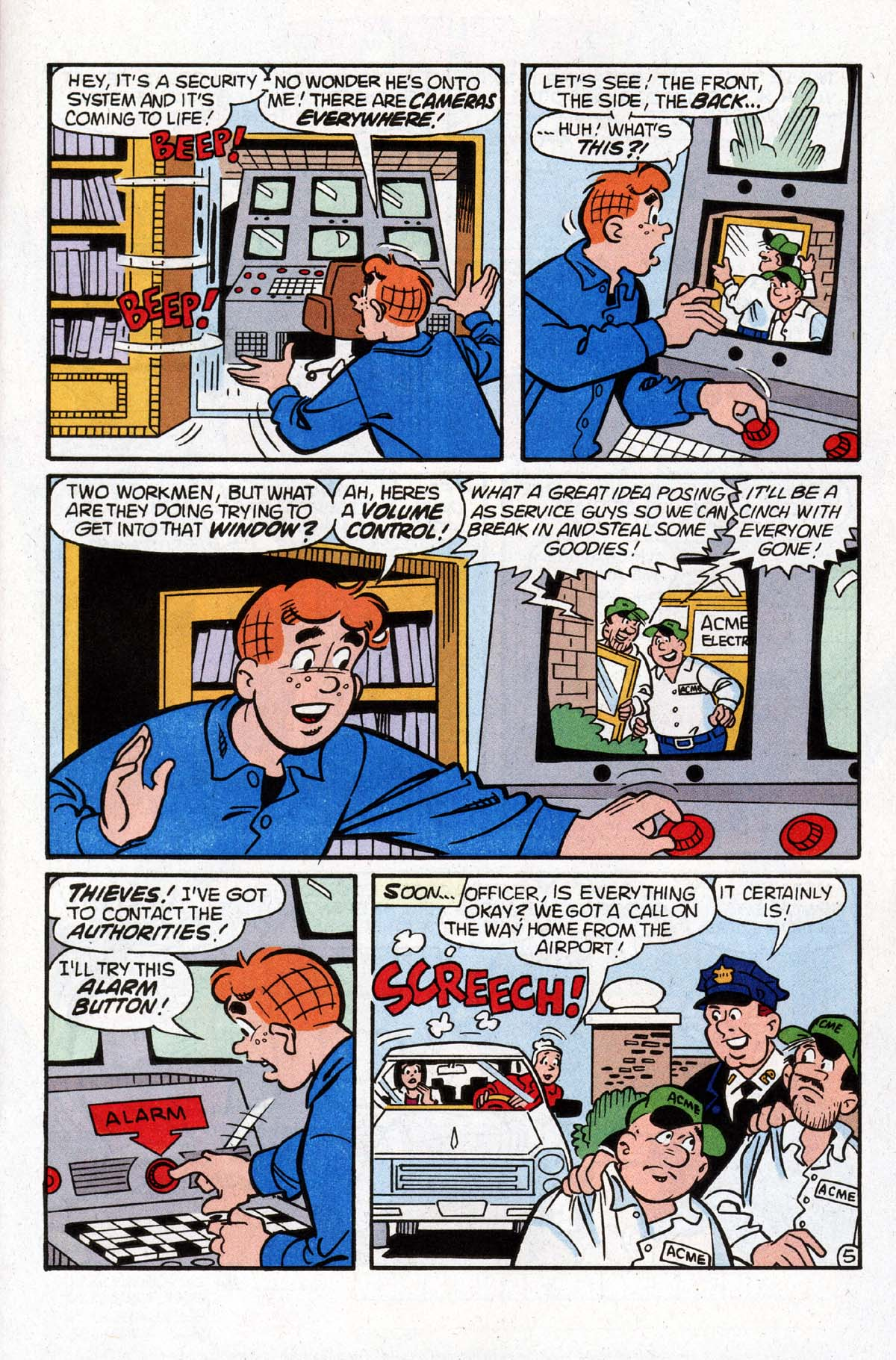 Read online Archie (1960) comic -  Issue #529 - 6
