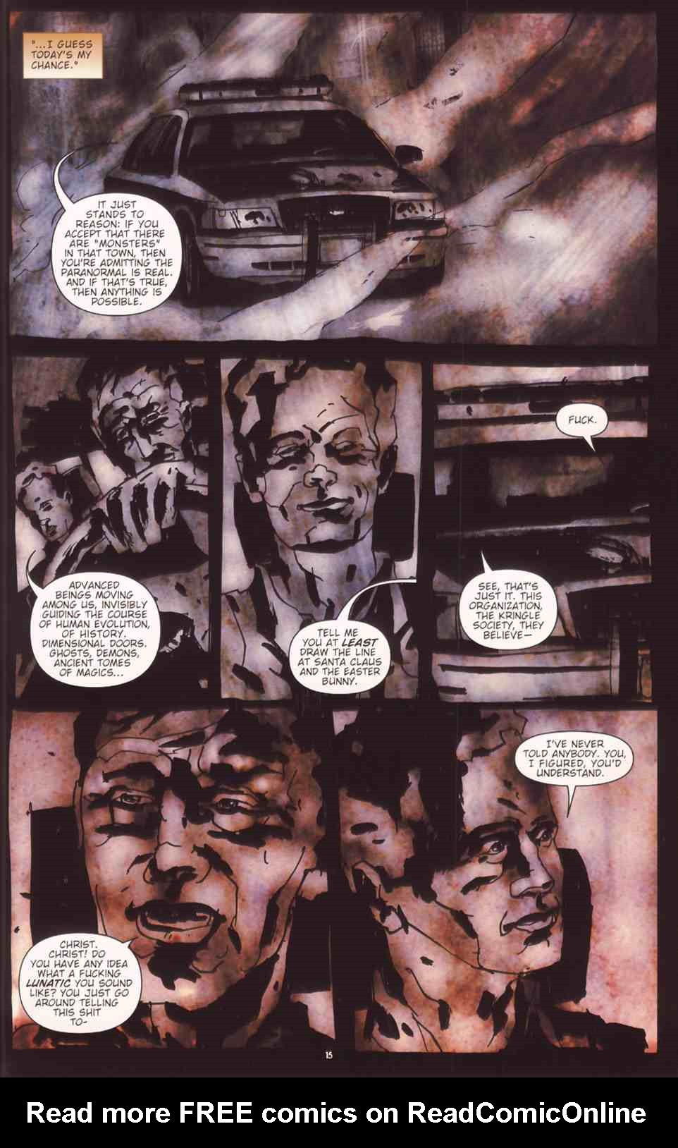 Read online Silent Hill: The Grinning Man comic -  Issue # Full - 17