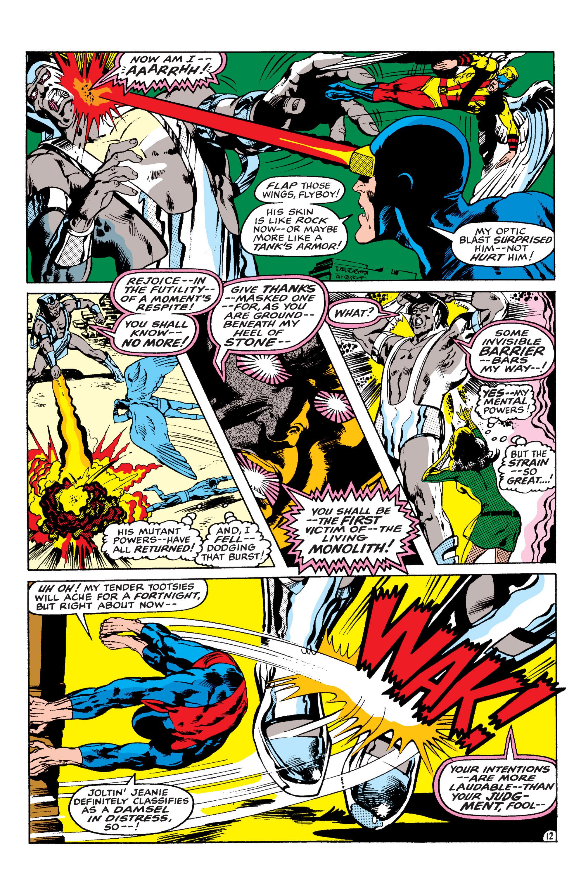 Uncanny X-Men (1963) 56 Page 12