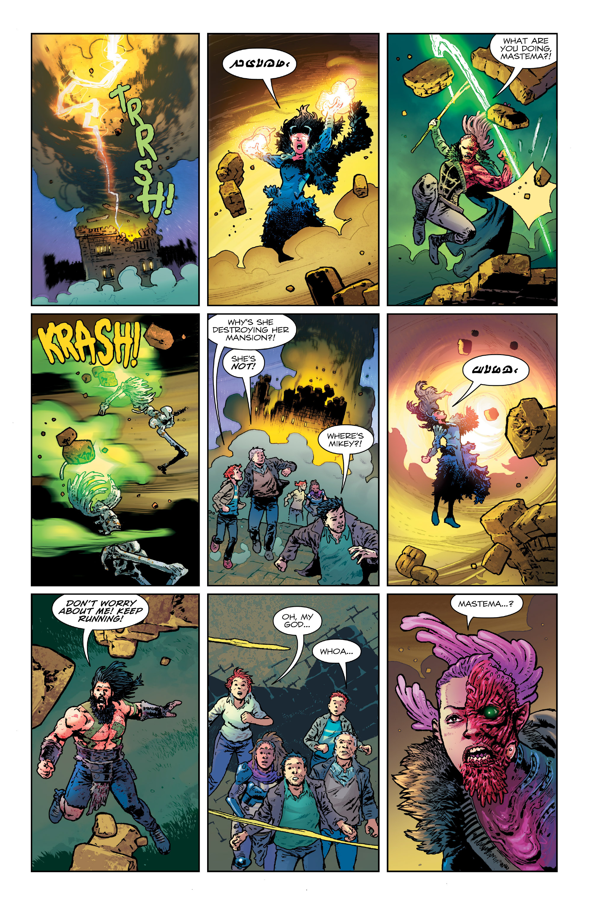 Read online Birthright (2014) comic -  Issue #25 - 7
