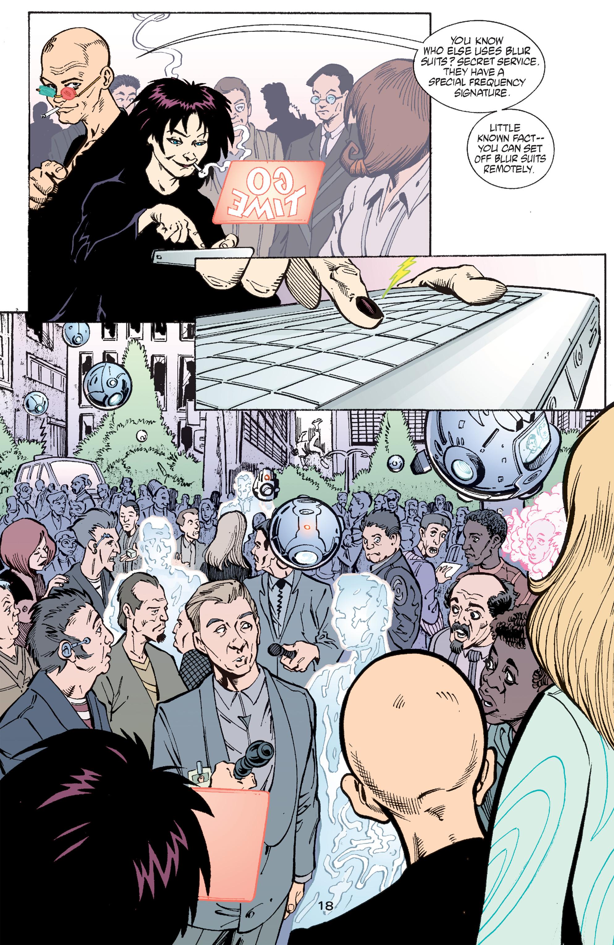 Read online Transmetropolitan comic -  Issue #47 - 19