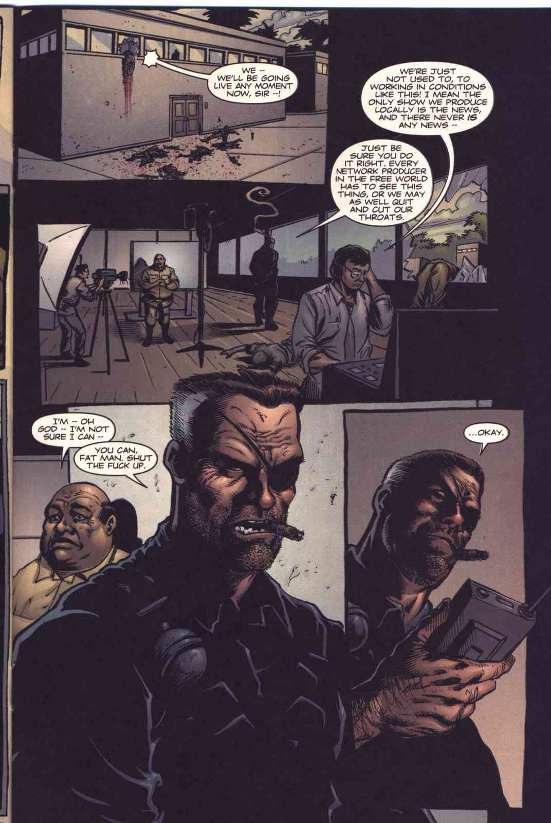 Read online Fury comic -  Issue #5 - 16
