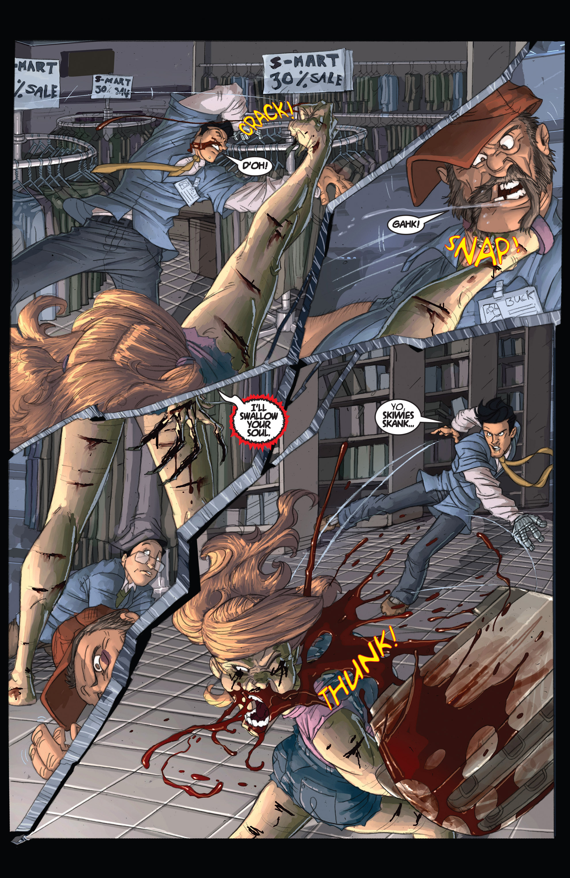 Read online Army of Darkness: Shop Till You Drop Dead comic -  Issue #Army of Darkness: Shop Till You Drop Dead TPB - 25