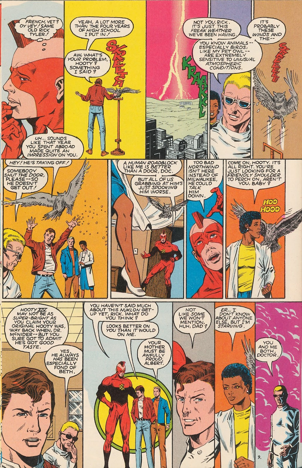 Infinity Inc. (1984) issue 20 - Page 14