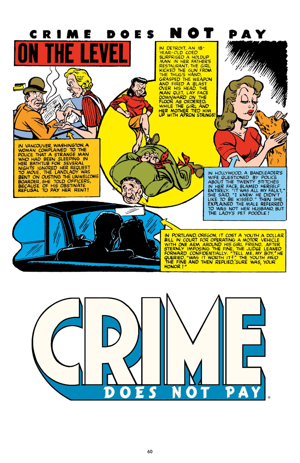 Read online Crime Does Not Pay Archives comic -  Issue # TPB 8 (Part 1) - 61