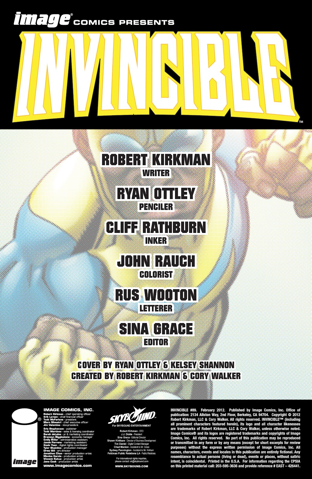 Invincible (2003) issue 89 - Page 2
