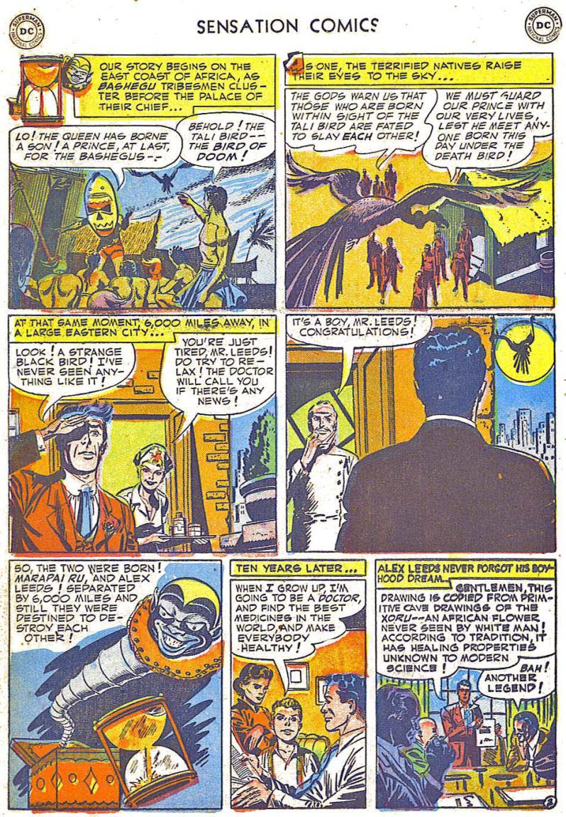 Read online Sensation (Mystery) Comics comic -  Issue #108 - 26
