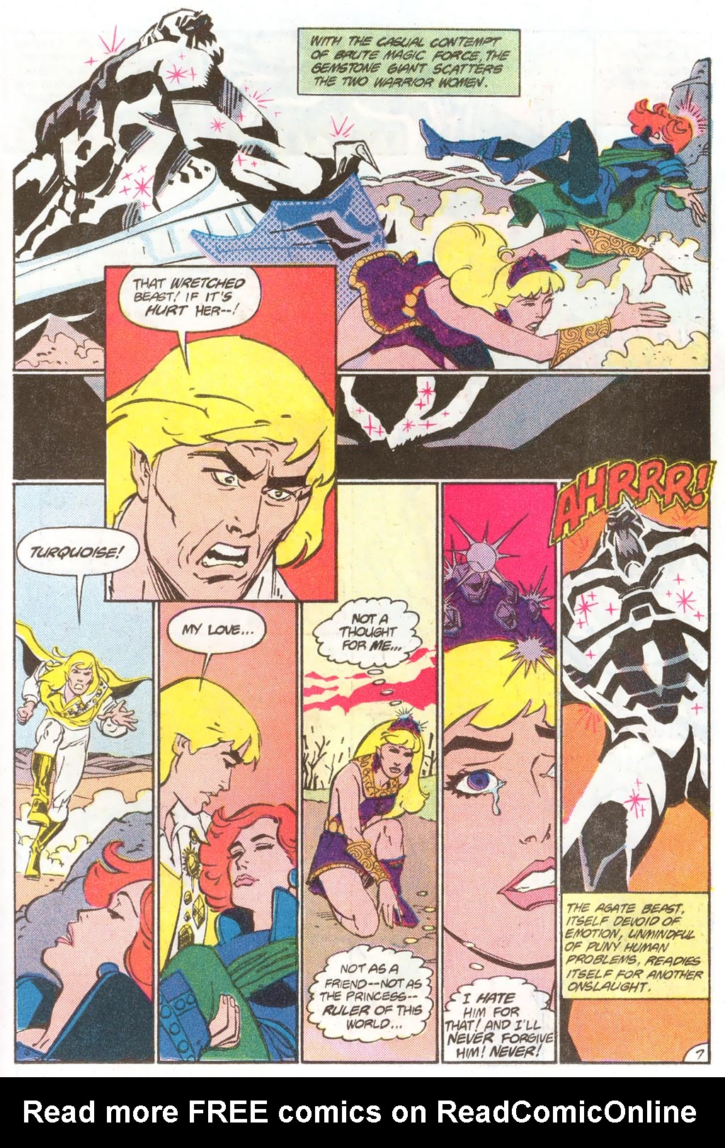 Read online Amethyst (1985) comic -  Issue #11 - 11