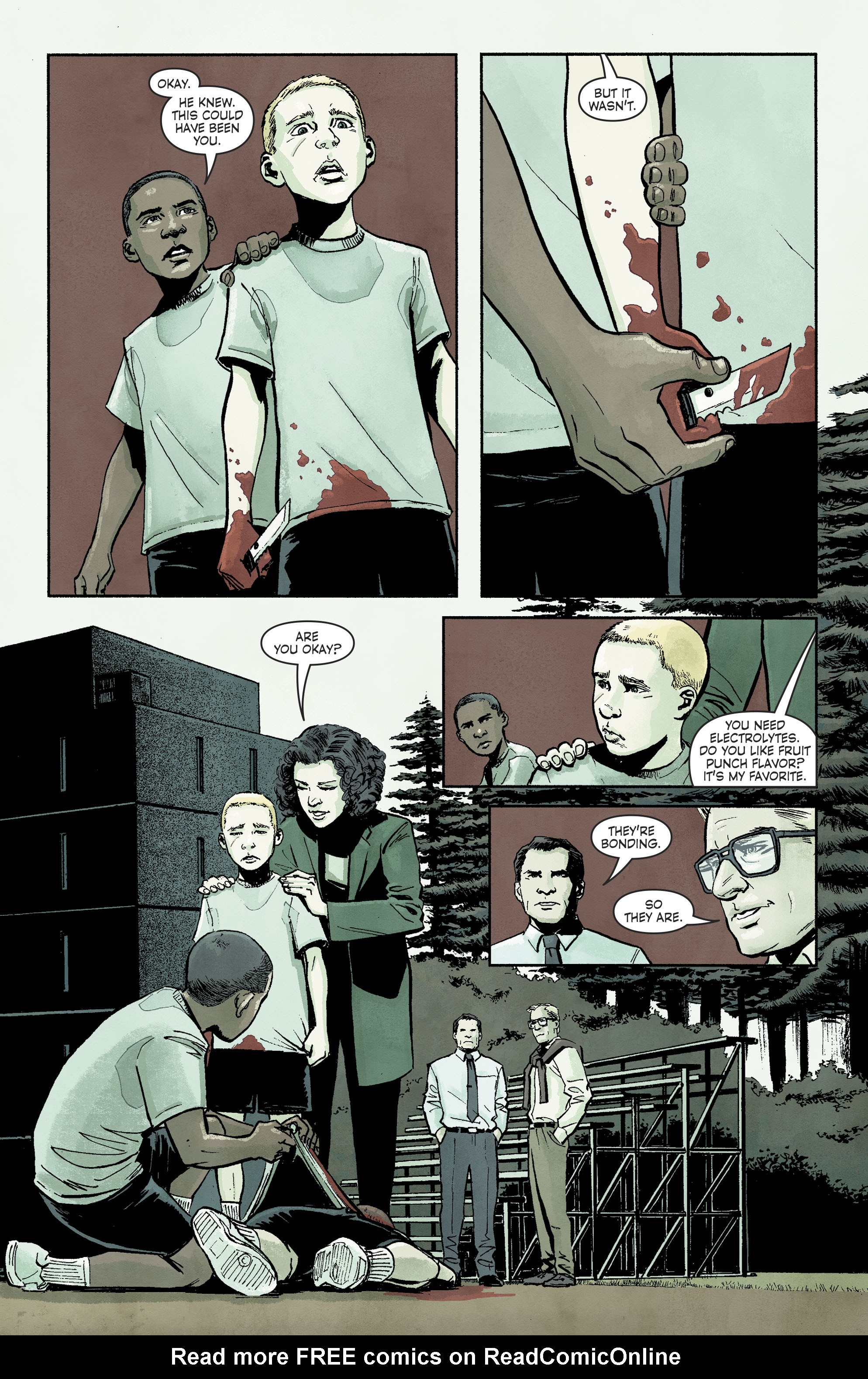 Read online Savage Things comic -  Issue #3 - 4
